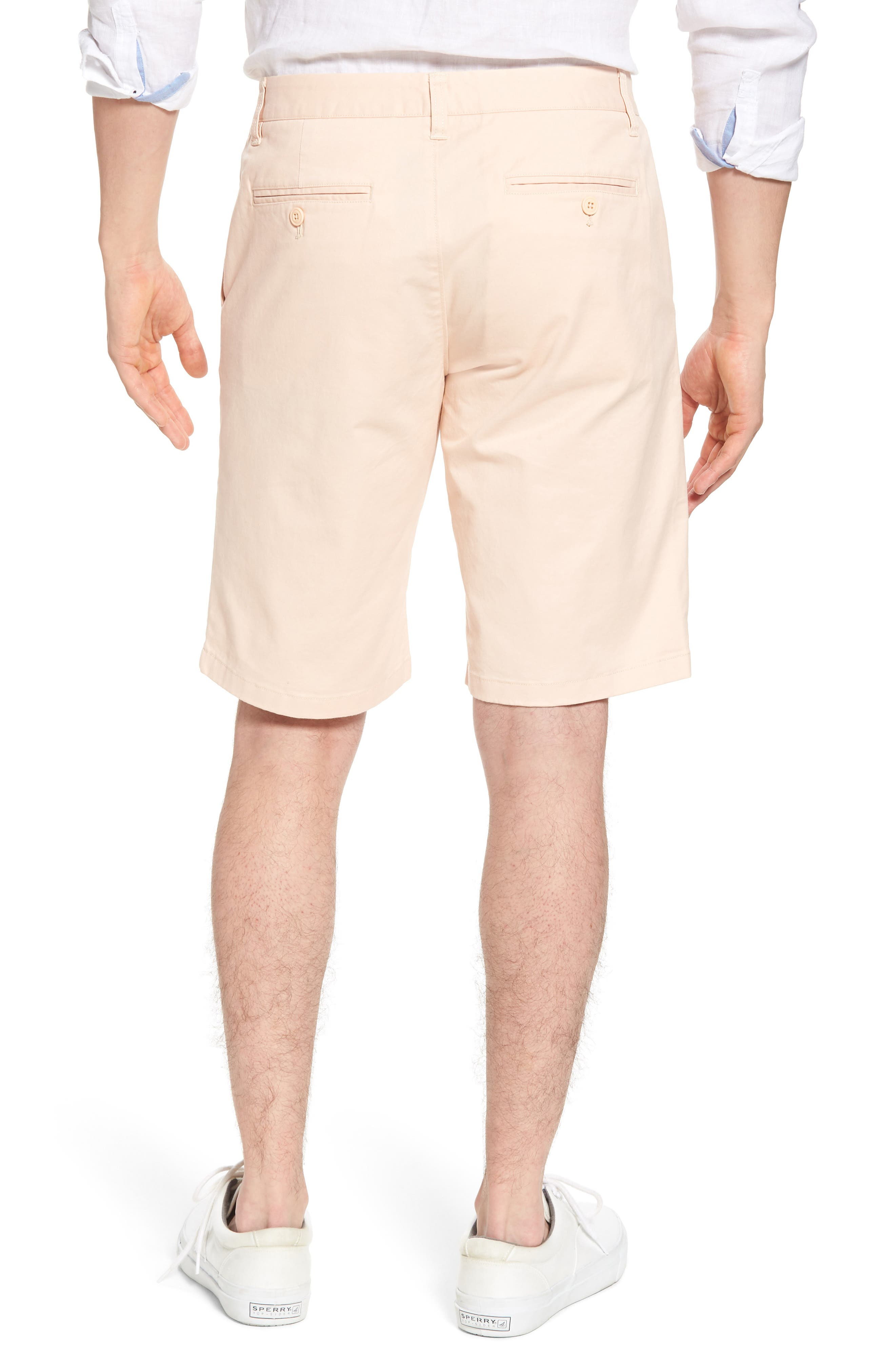 Stretch Washed Chino 11-Inch Shorts,                             Alternate thumbnail 18, color,