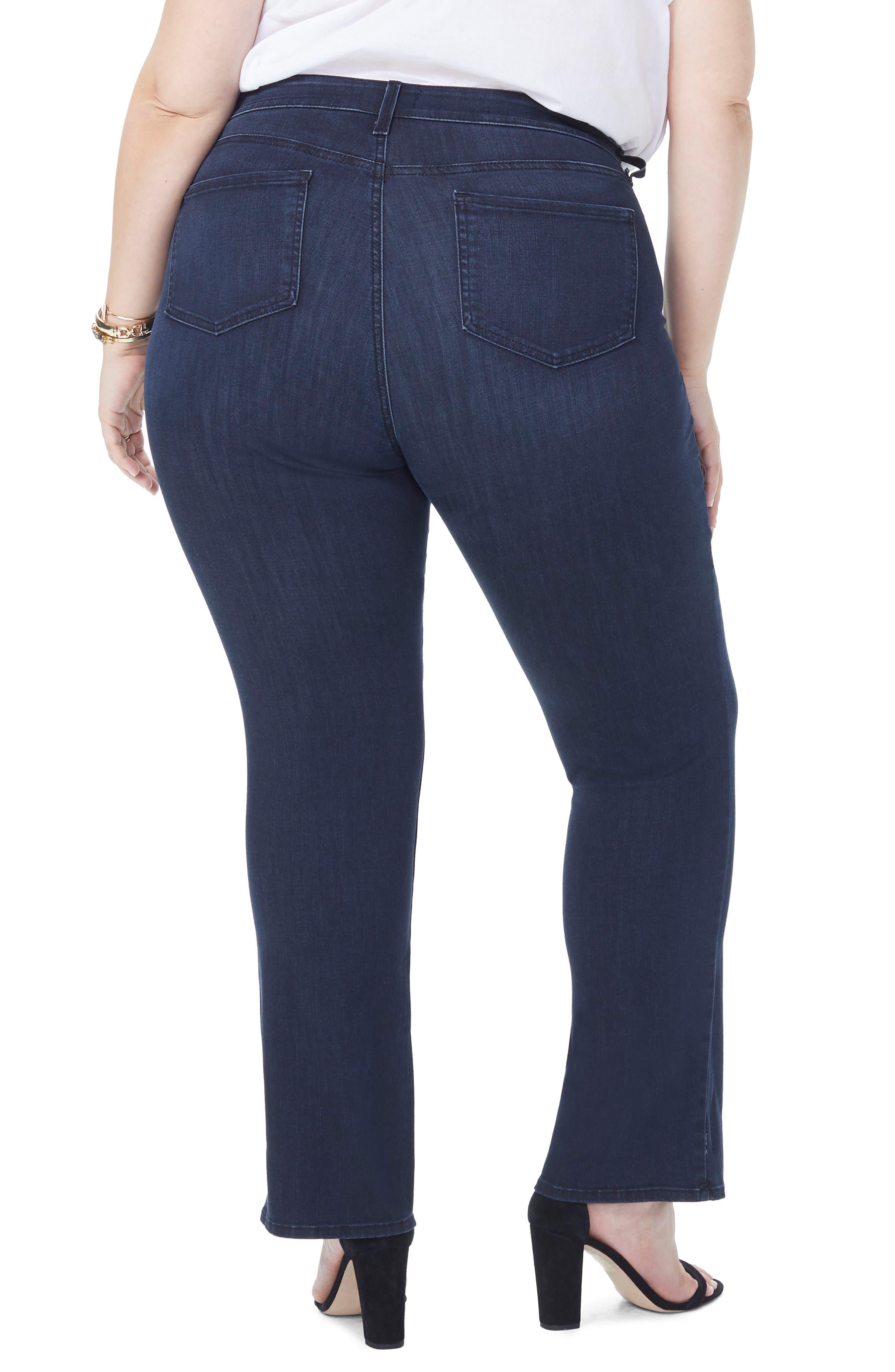 Barbara Stretch Bootcut Jeans,                             Alternate thumbnail 2, color,                             FALLEN