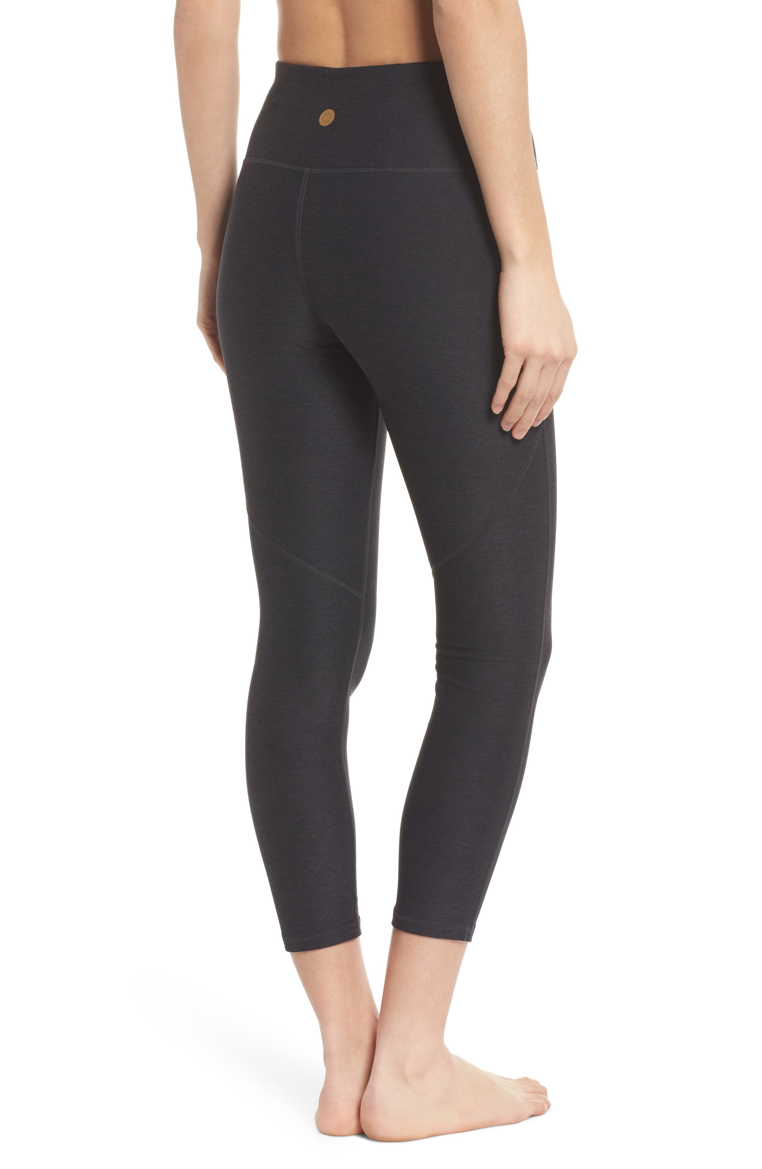 VARLEY,                             Everett High Waist Crop Tights,                             Alternate thumbnail 2, color,                             020