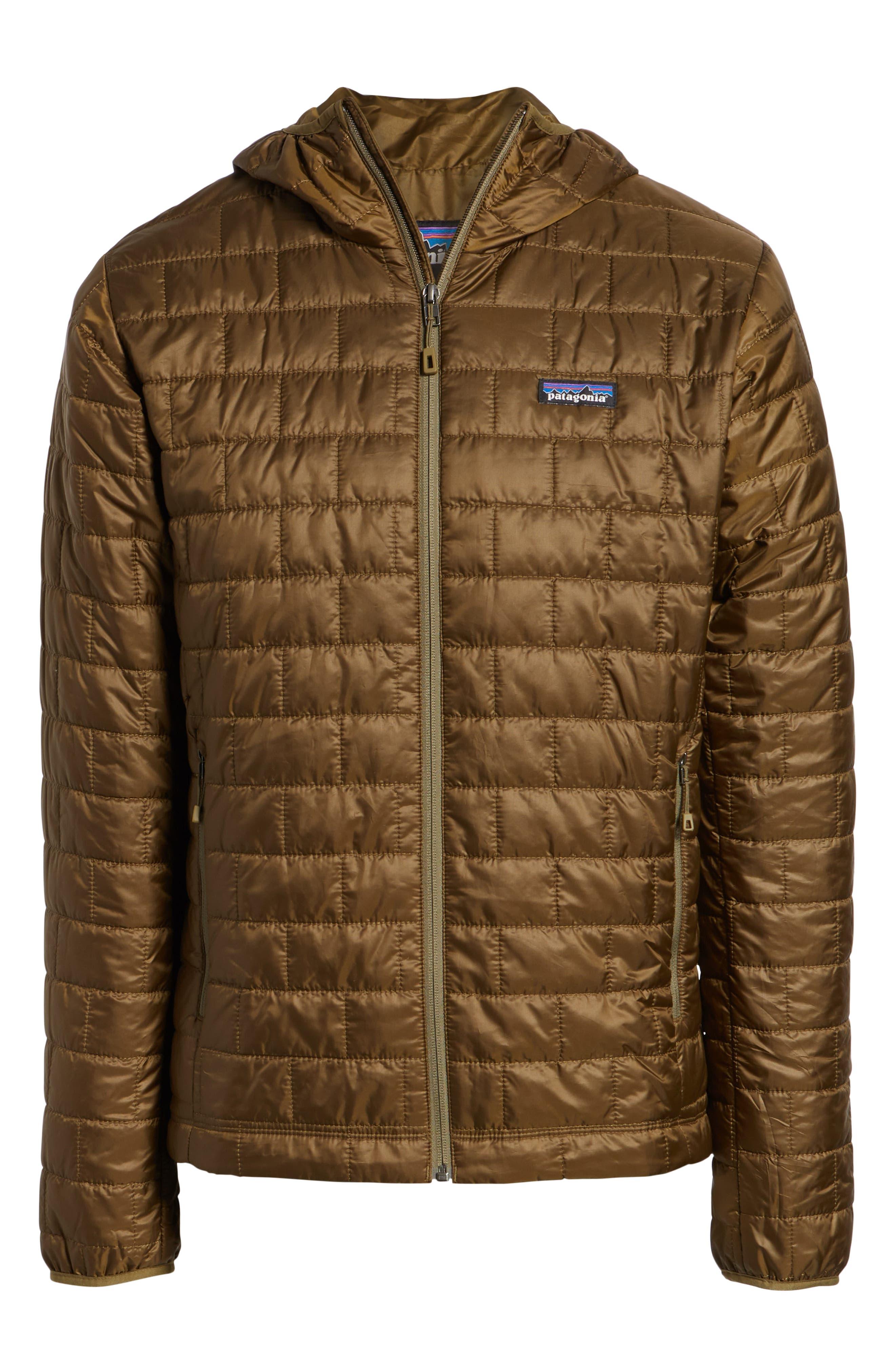 Nano Puff<sup>®</sup> Hooded Jacket,                             Alternate thumbnail 5, color,                             CARGO GREEN