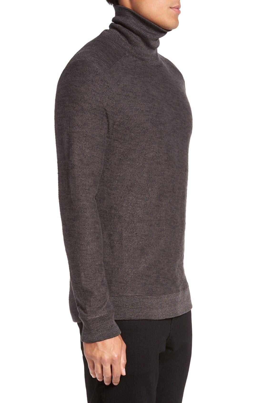 Turtleneck Sweater,                             Alternate thumbnail 3, color,                             034