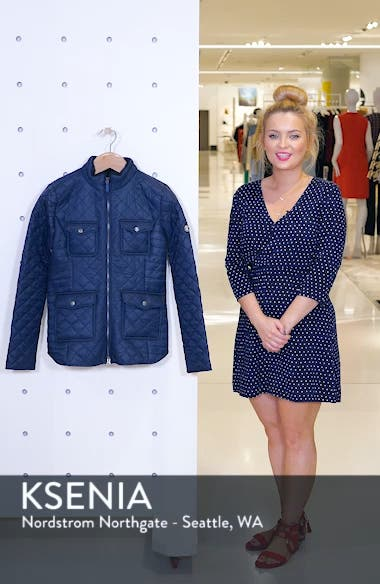 Weymouth Quilted Jacket, sales video thumbnail
