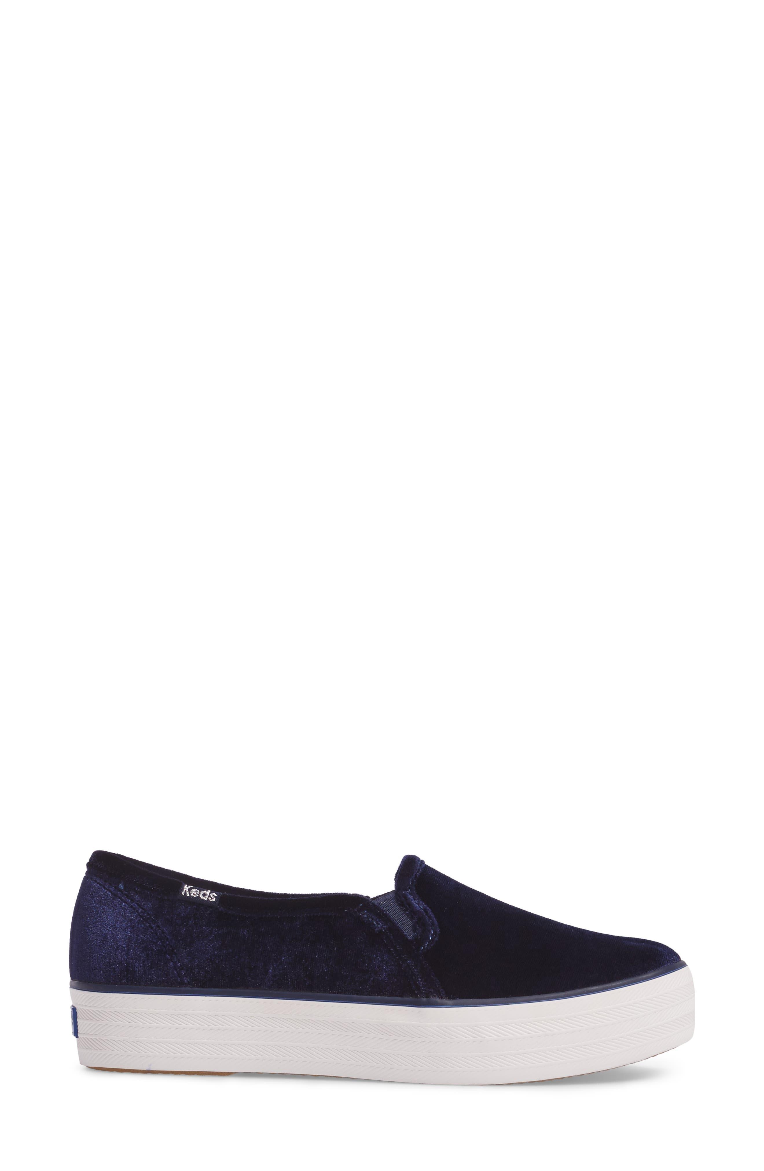 Triple Decker Slip-On Platform Sneaker,                             Alternate thumbnail 26, color,