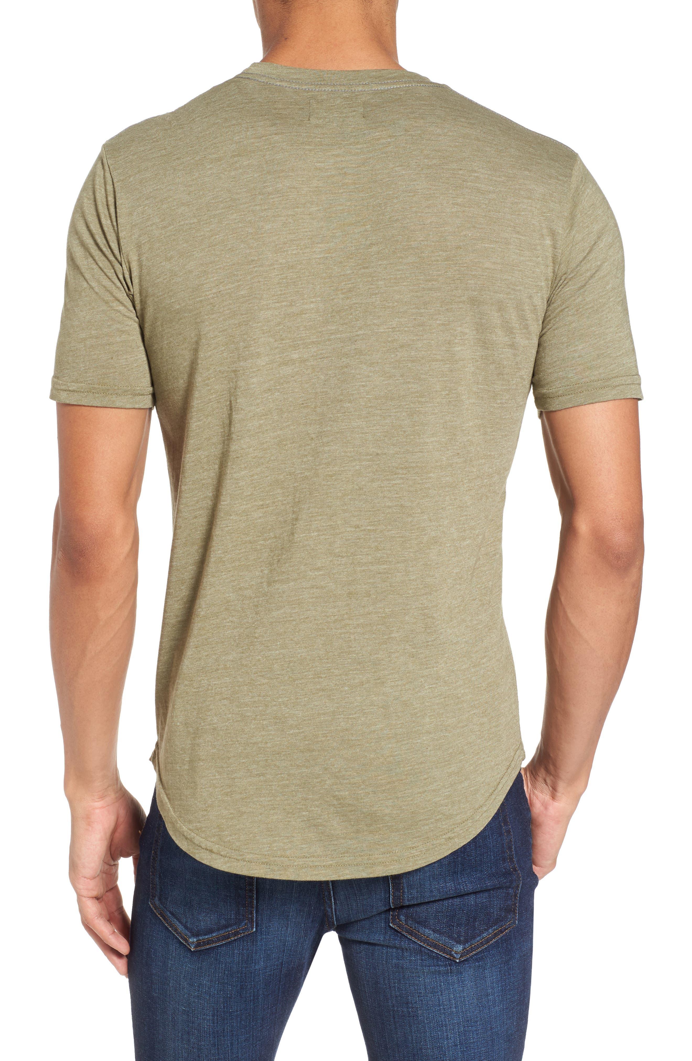 Scallop Triblend Crewneck T-Shirt,                             Alternate thumbnail 27, color,
