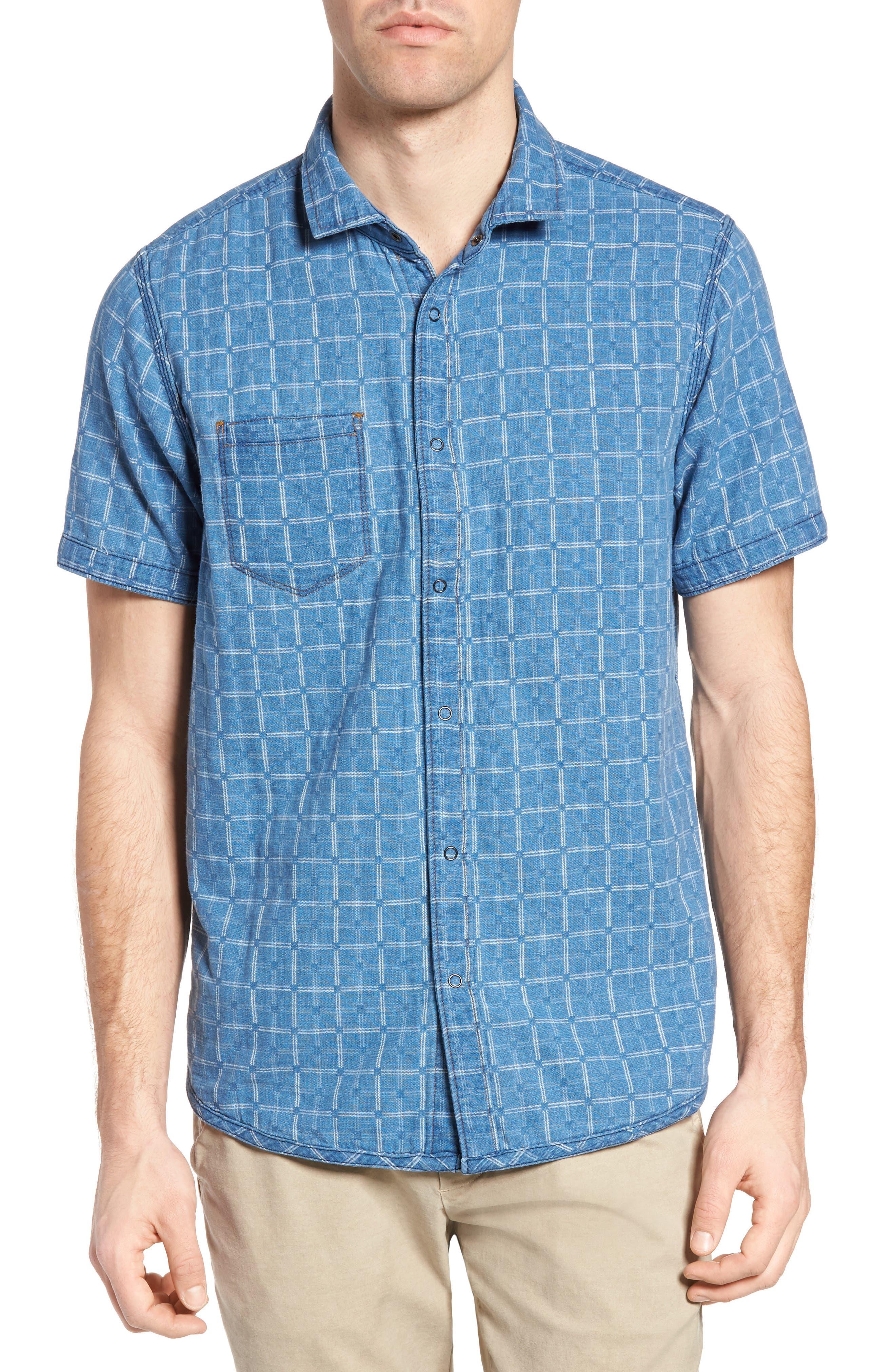 Kit Reversible Jacquard Sport Shirt,                             Alternate thumbnail 2, color,