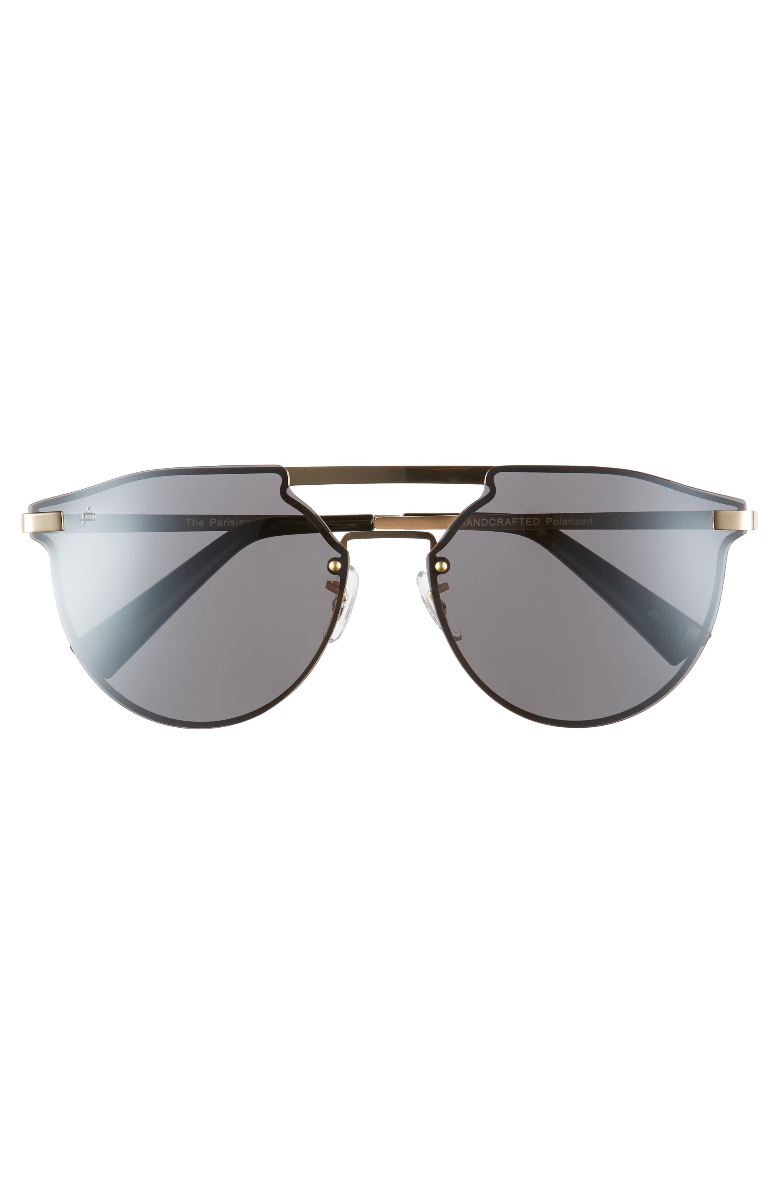 Privé Revaux The Parisian 62mm Aviator Sunglasses,                             Alternate thumbnail 3, color,                             040