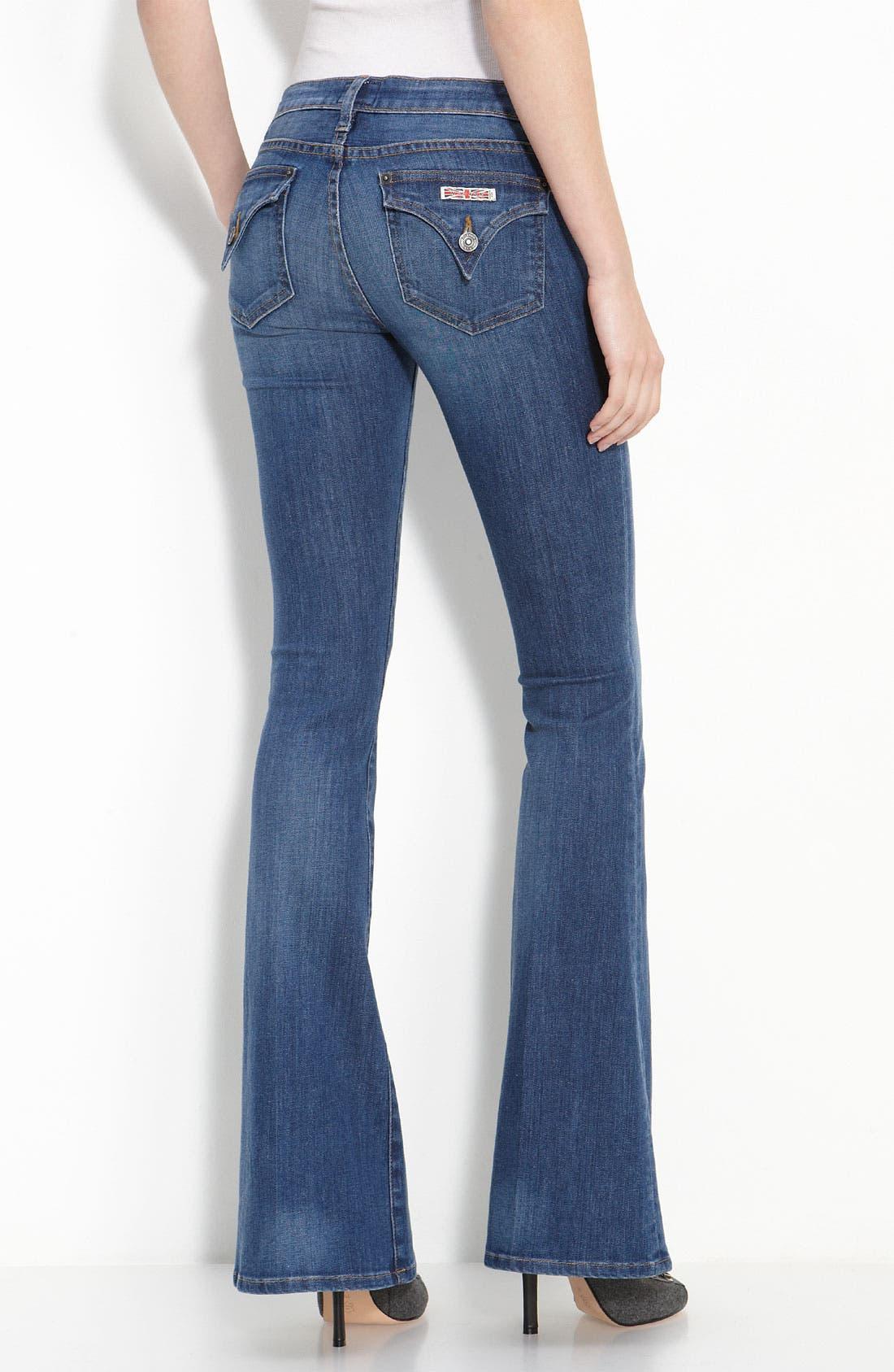 HUDSON JEANS,                             'Ferris' Flare Leg Stretch Denim Jeans,                             Alternate thumbnail 2, color,                             401