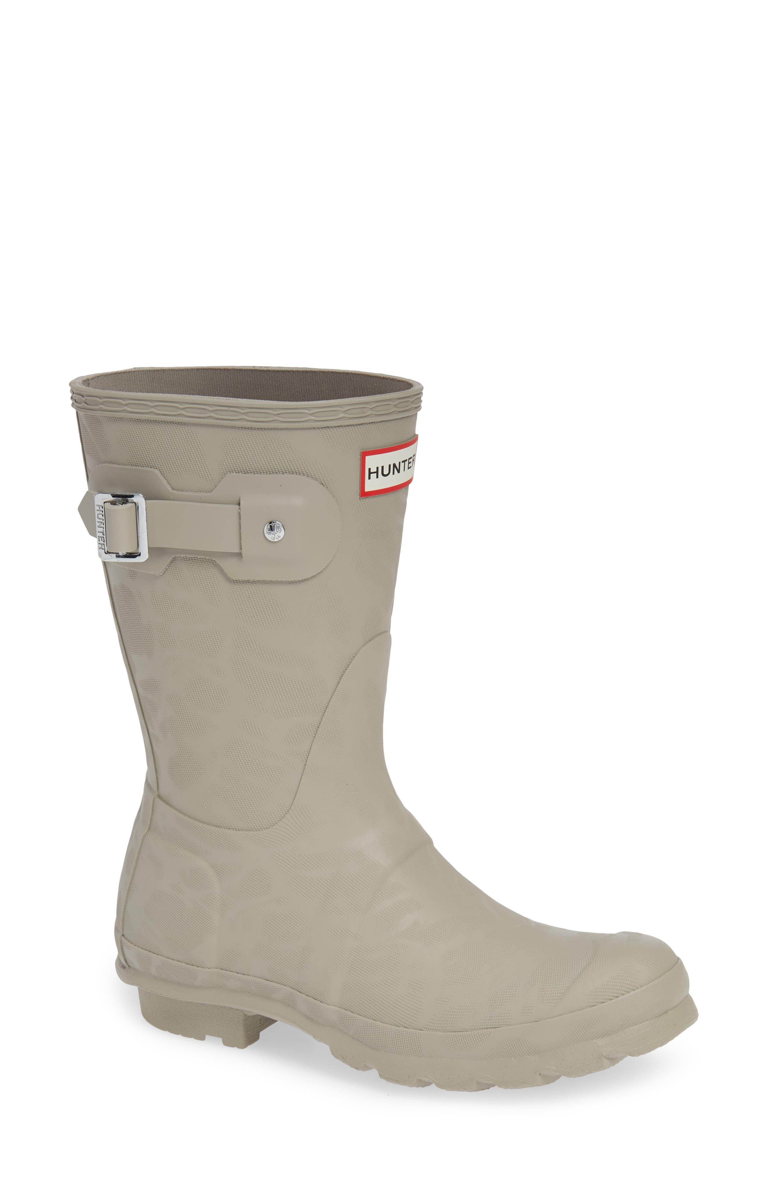 Original Textured Short Rain Boot,                         Main,                         color, DEW