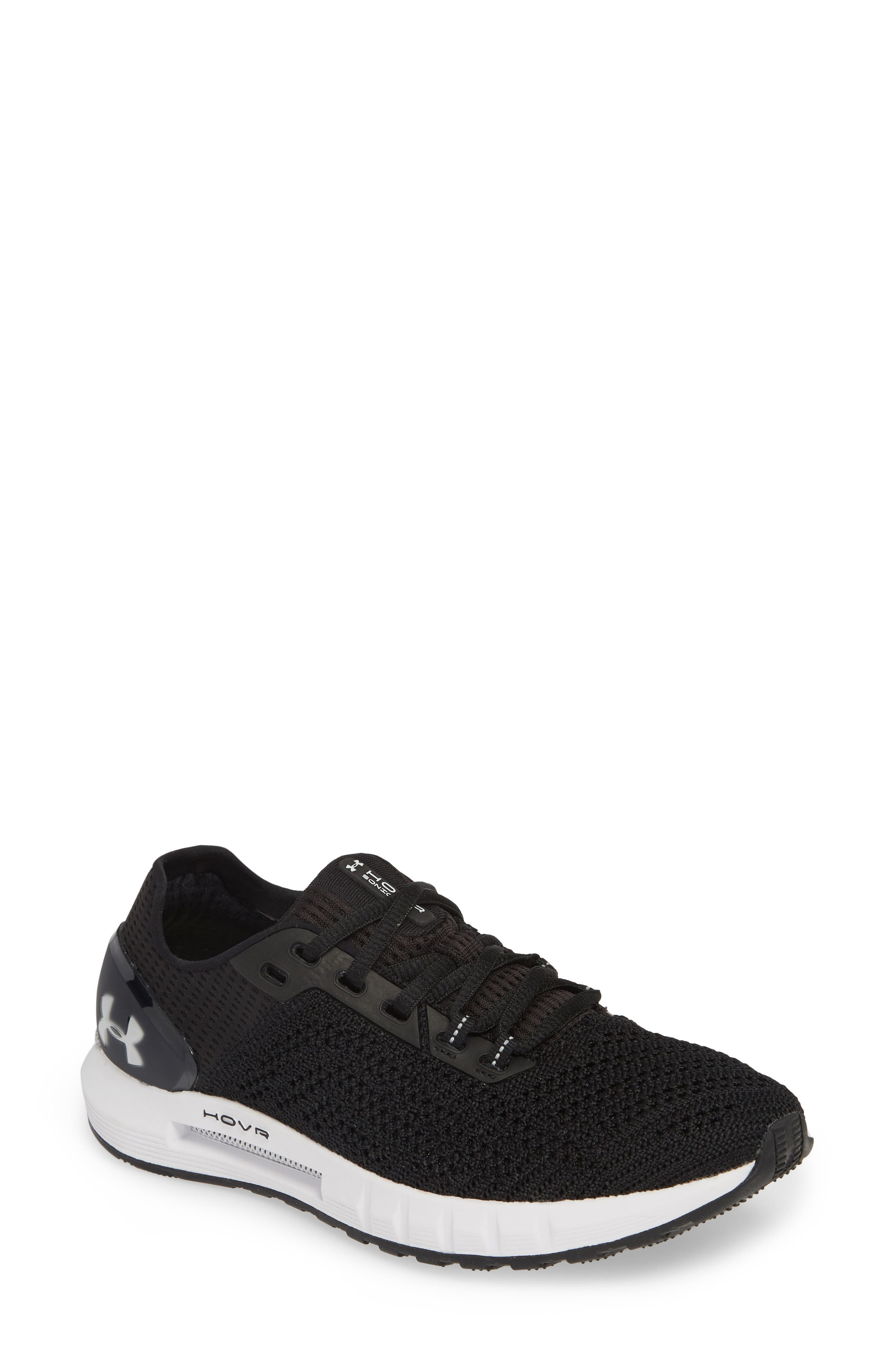 HOVR<sup>™</sup> Sonic 2 Connected Running Shoe,                             Main thumbnail 1, color,                             BLACK/ WHITE/ WHITE