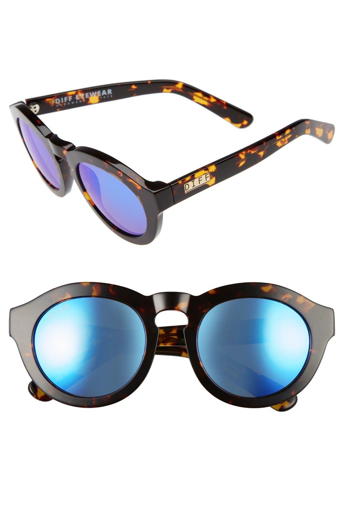 Dime 48mm Retro Sunglasses,                             Main thumbnail 4, color,