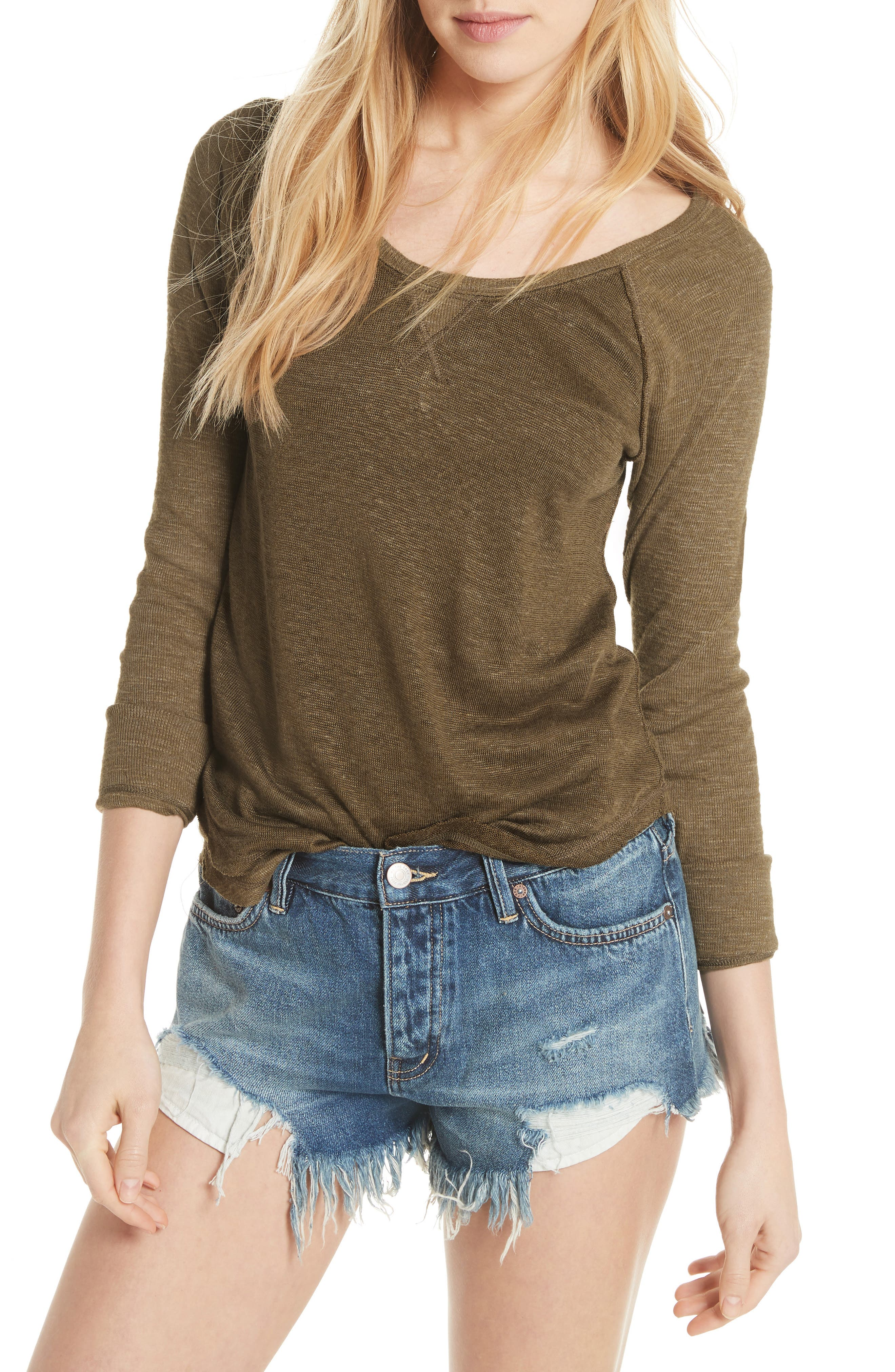 We the Free by Free People Friday Feelin Tee,                         Main,                         color, 303