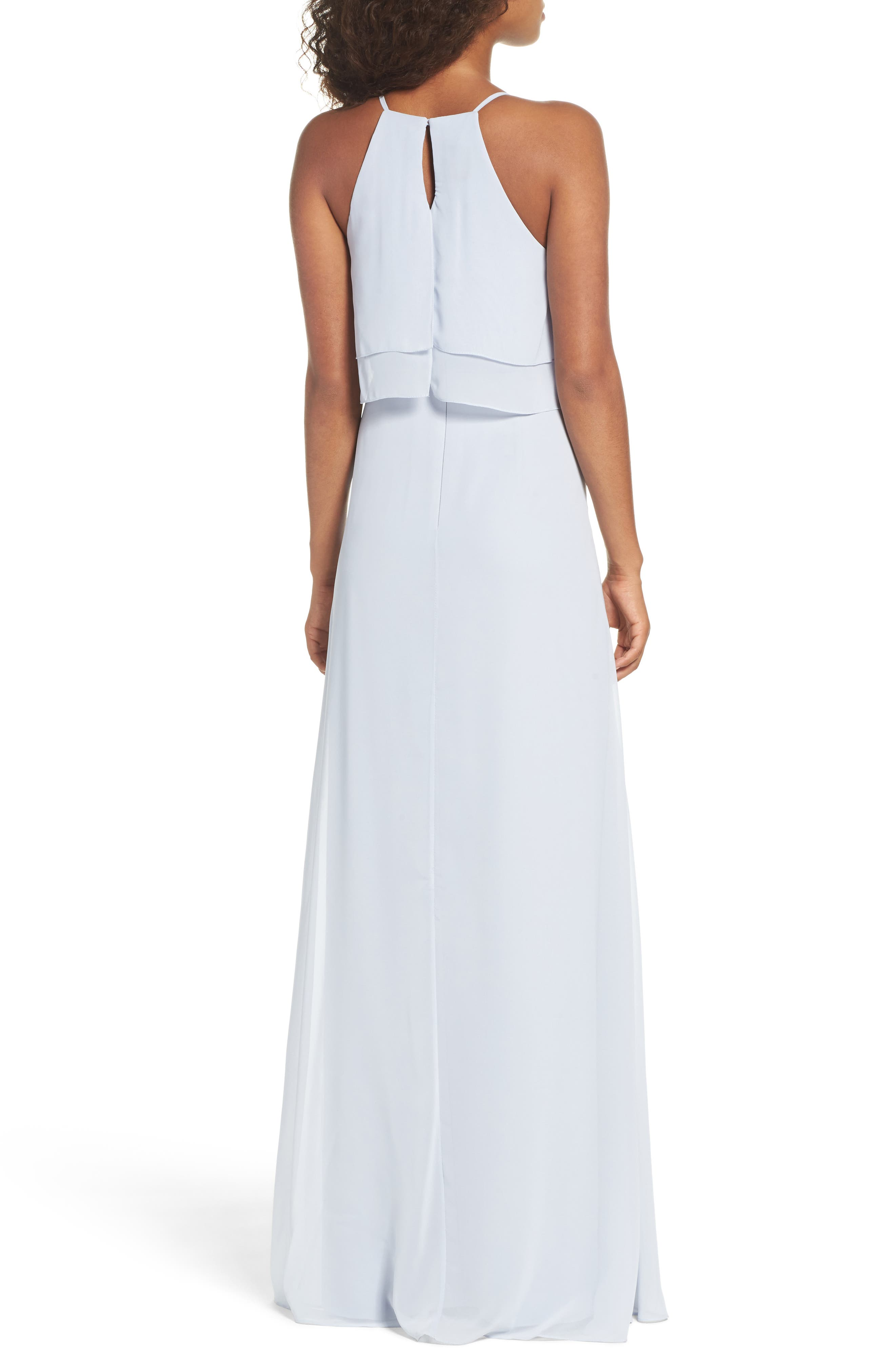 Charlie Ruffle Bodice Gown,                             Alternate thumbnail 12, color,
