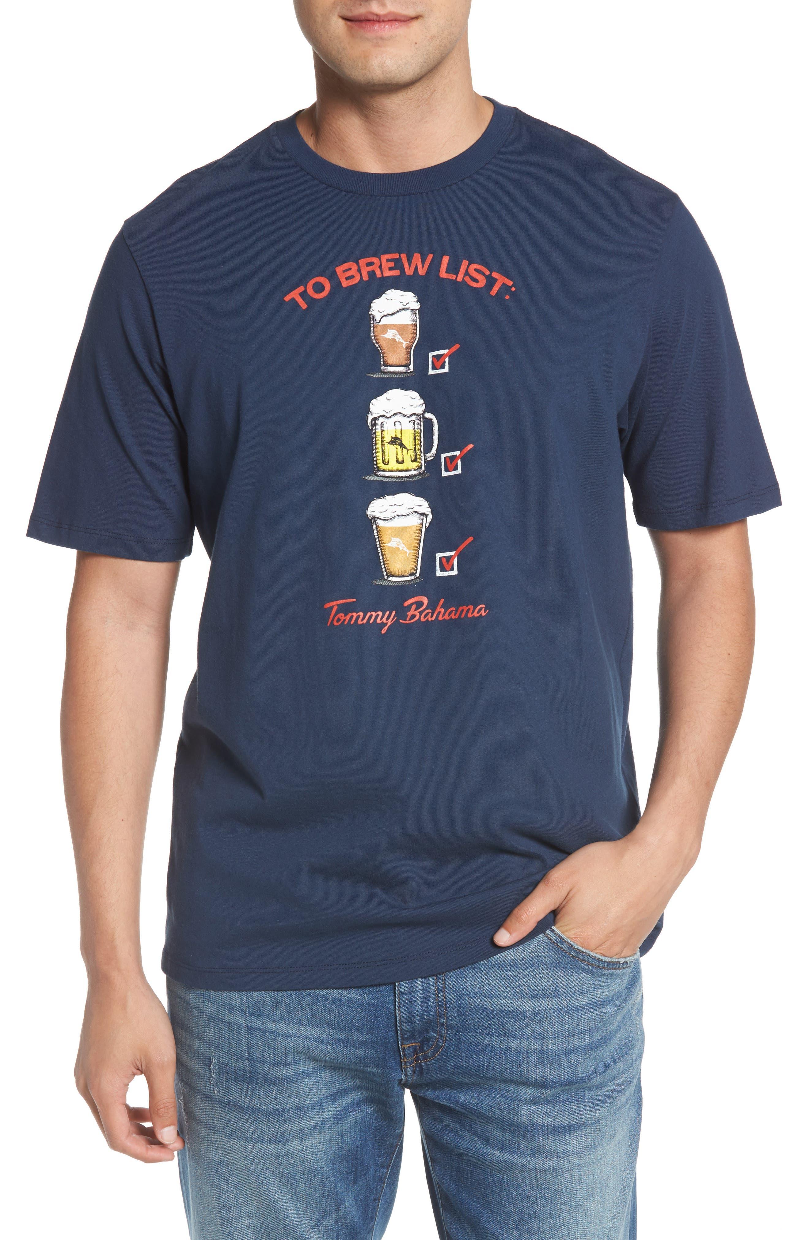 To Brew List T-Shirt,                             Main thumbnail 1, color,                             400