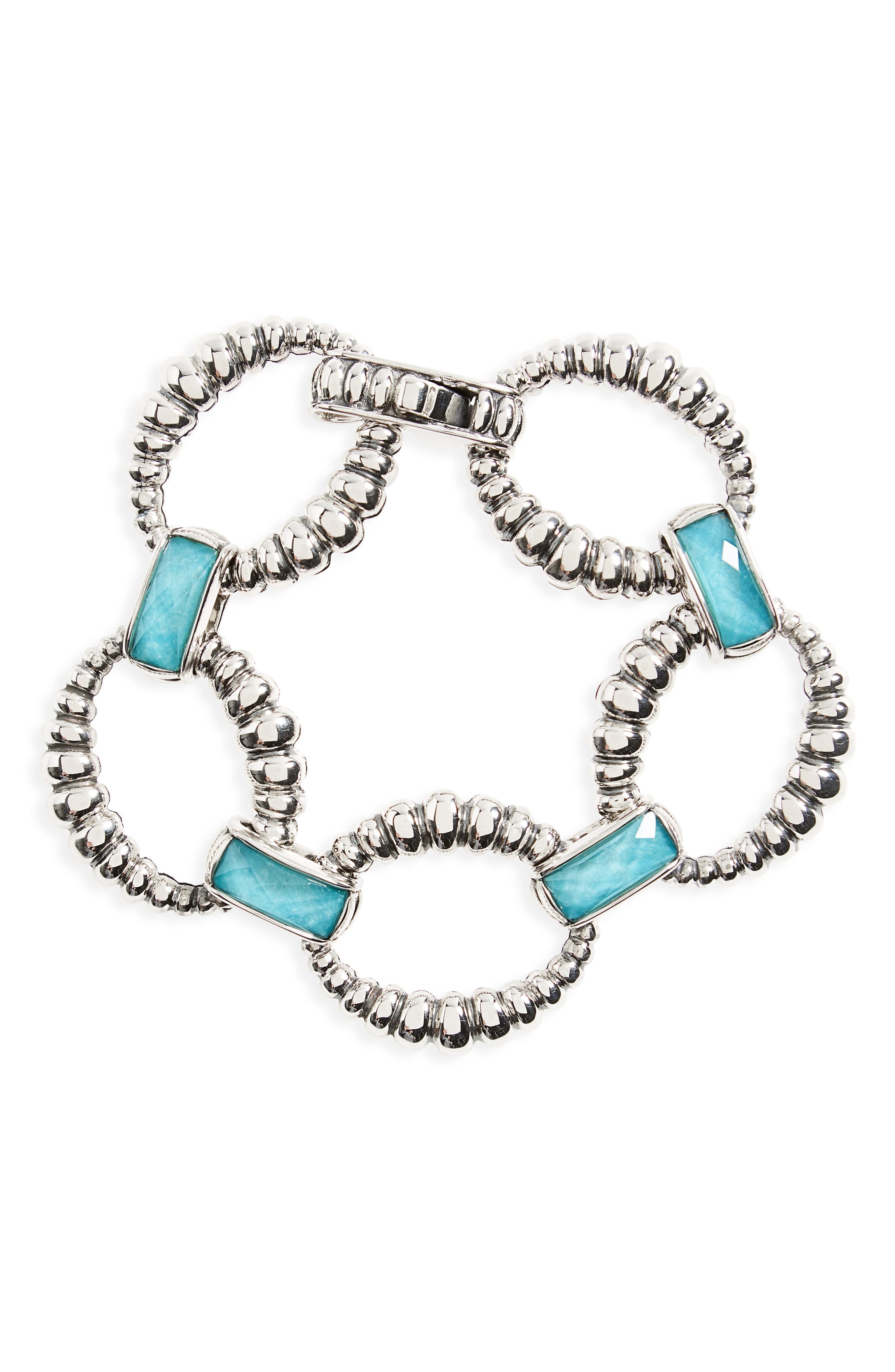Maya Fluted Link Bracelet,                         Main,                         color, 041