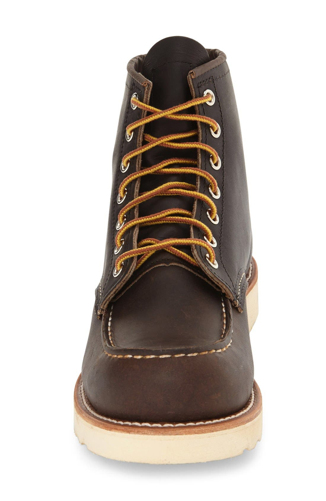 6 Inch Moc Toe Boot,                             Alternate thumbnail 3, color,                             200