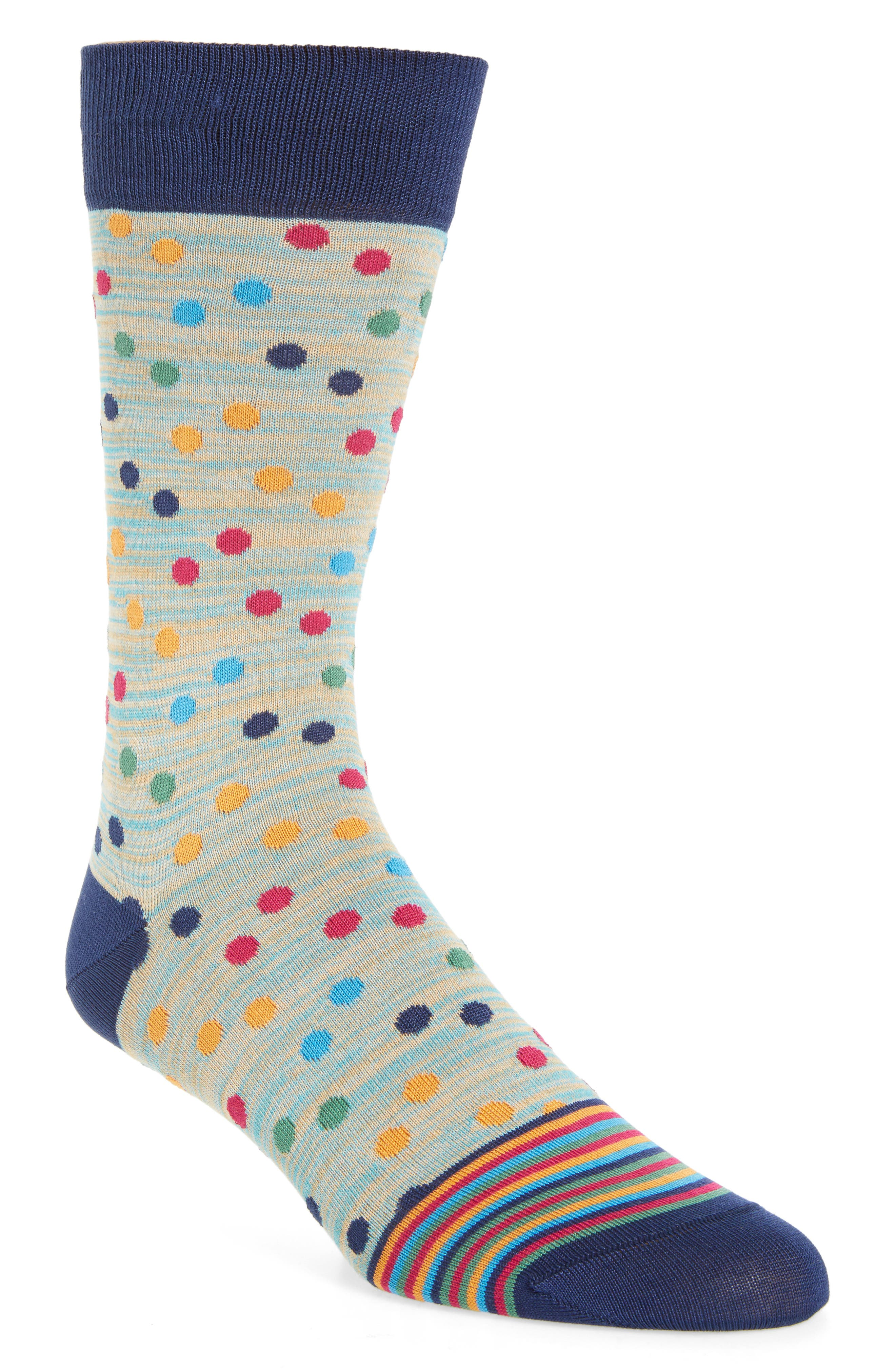 Polka Dot Socks,                             Main thumbnail 3, color,