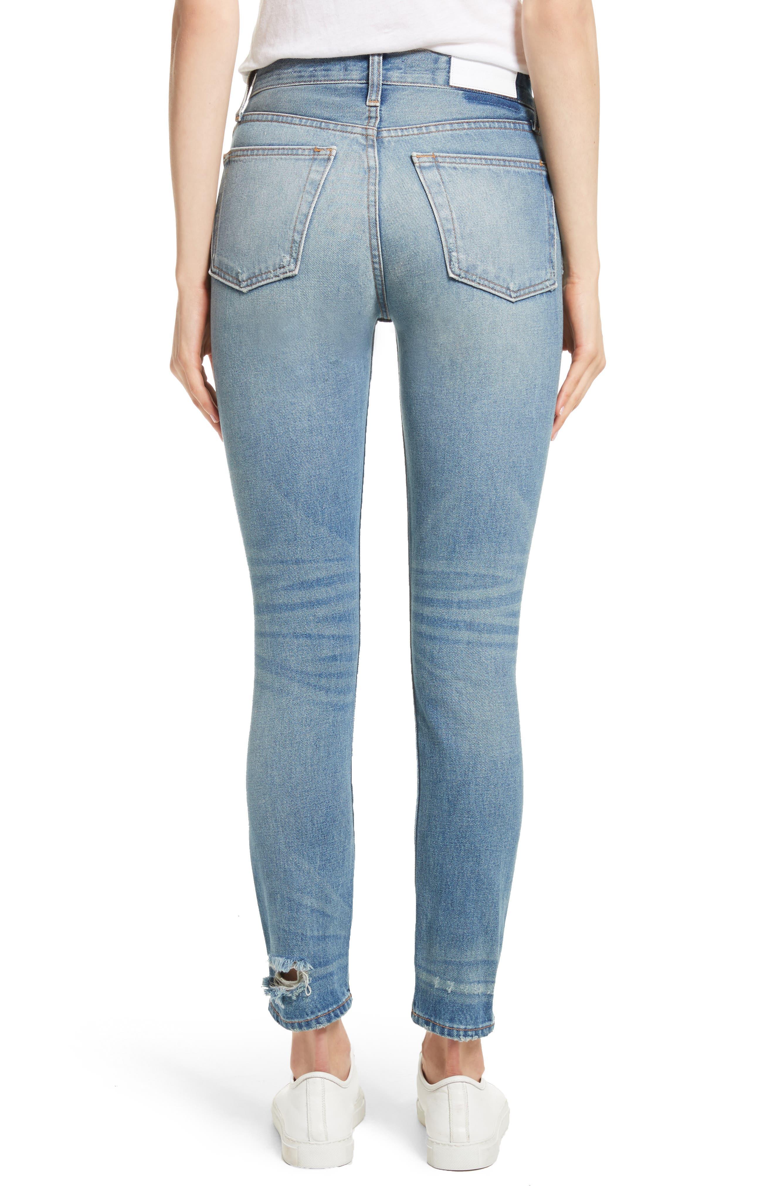 Originals High Waist Jeans,                             Alternate thumbnail 2, color,                             401