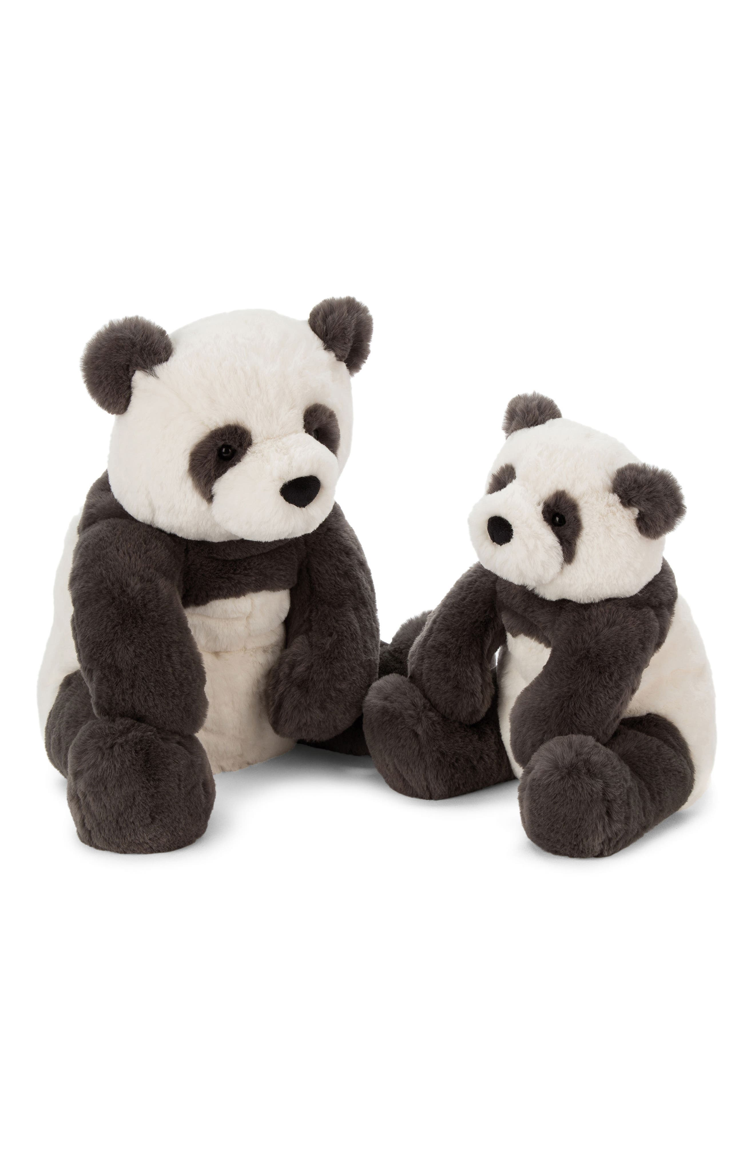 Large Harry Panda Stuffed Animal,                             Alternate thumbnail 2, color,                             BLACK / CREAM