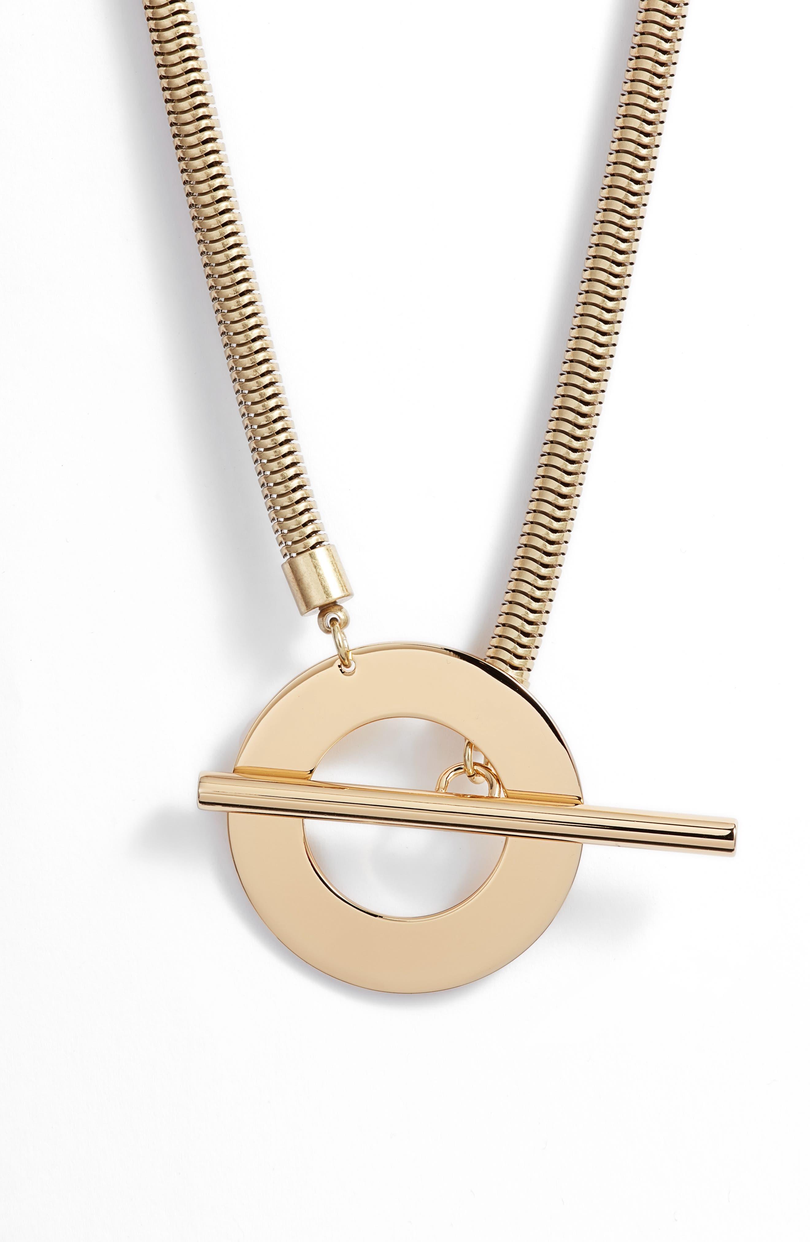 JENNY BIRD Rhye Collar Necklace in Gold