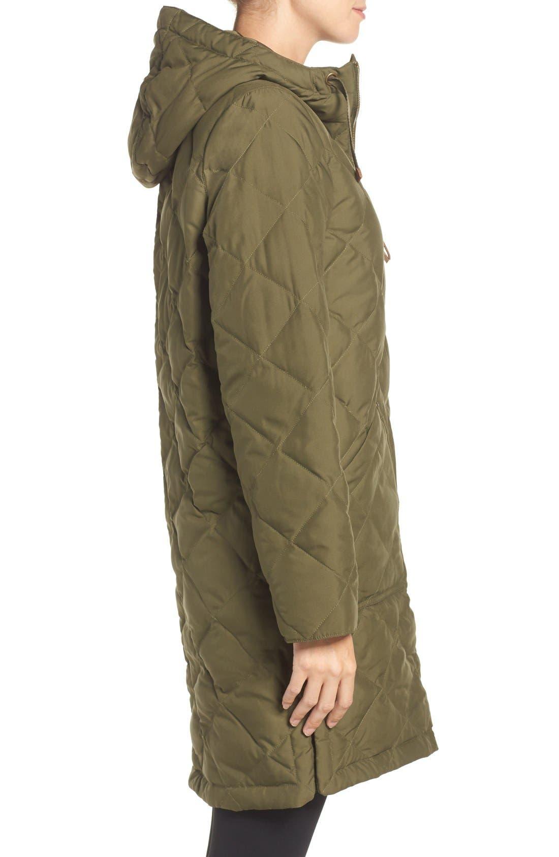 Bixby Long Down Jacket,                             Alternate thumbnail 3, color,                             397