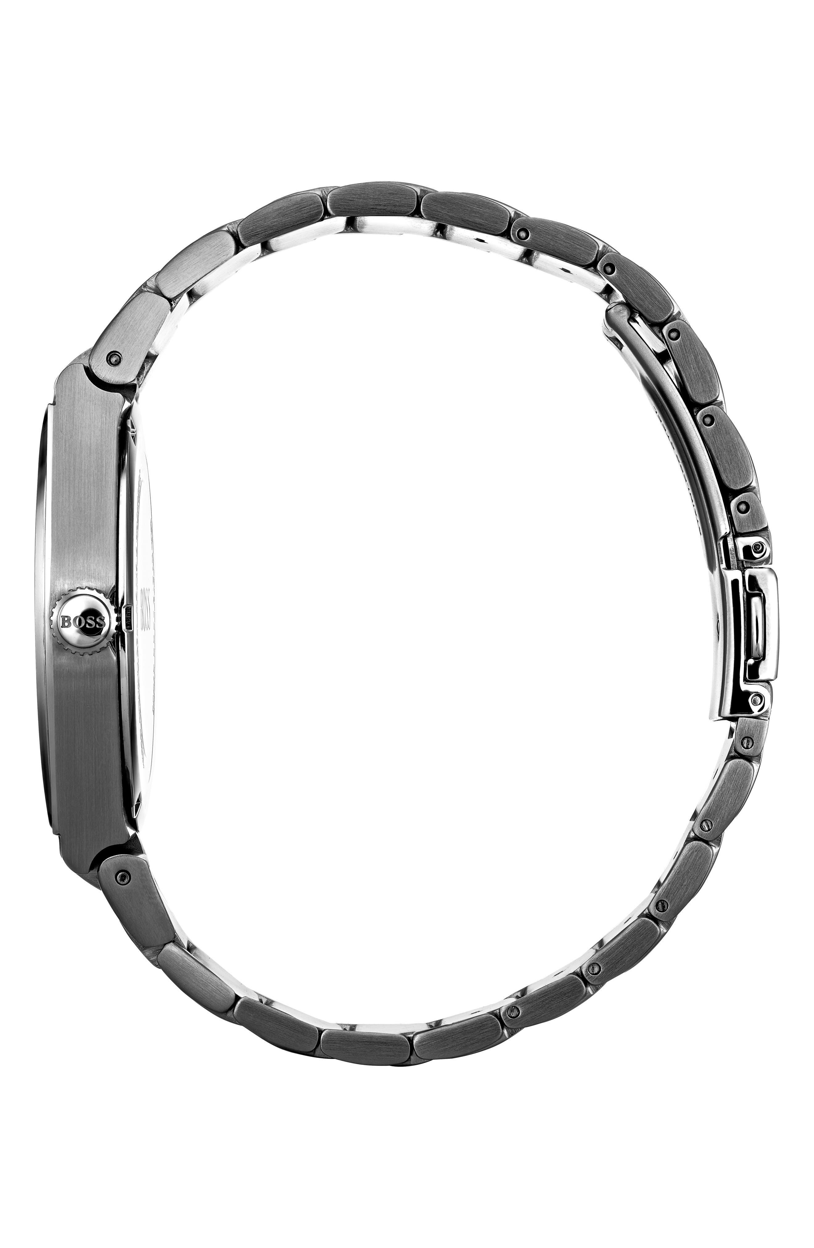 Magnitude Bracelet Watch, 42mm,                             Alternate thumbnail 3, color,                             040