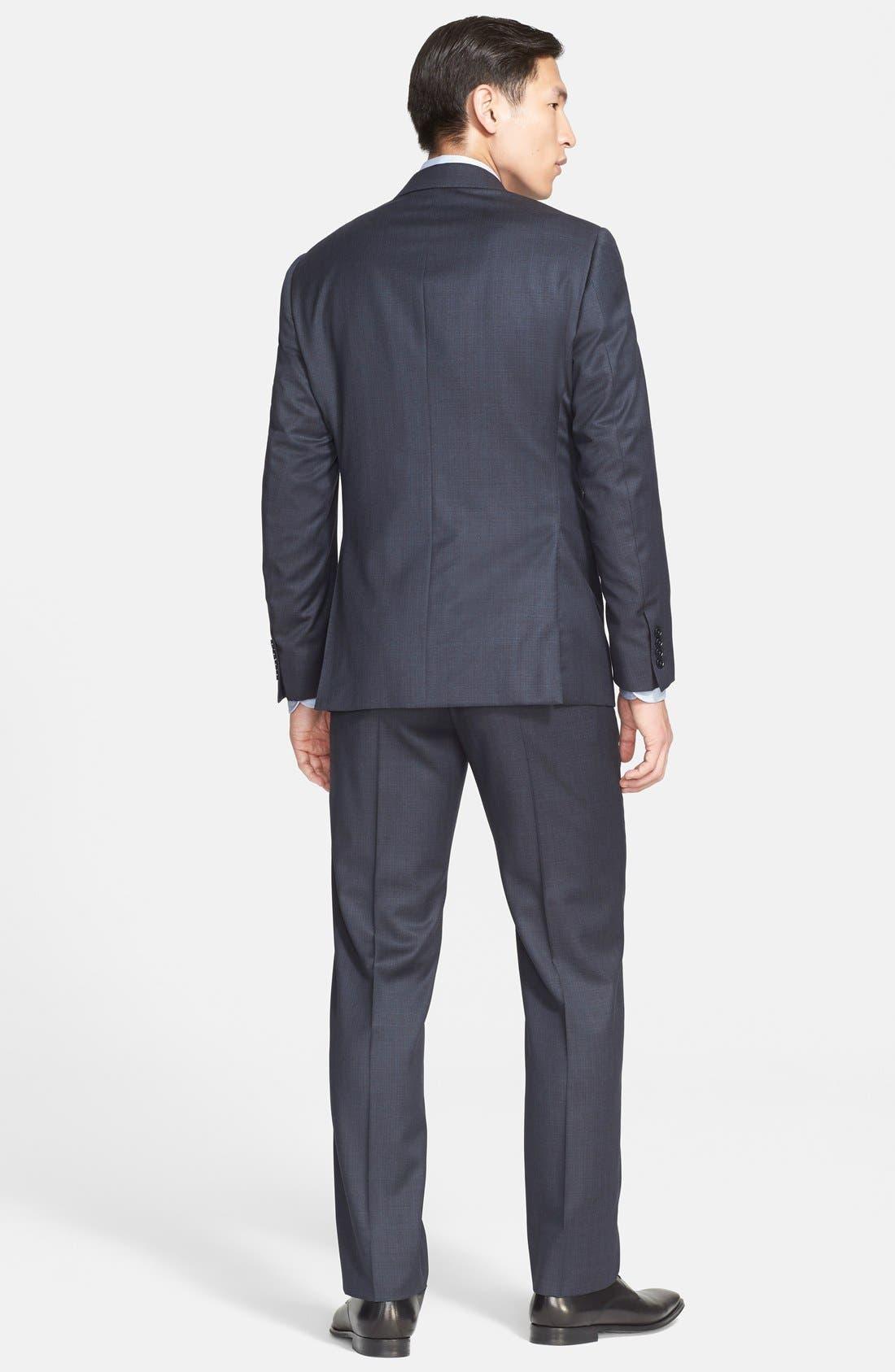'G-Line' Trim Fit Solid Wool Suit,                             Alternate thumbnail 2, color,                             410