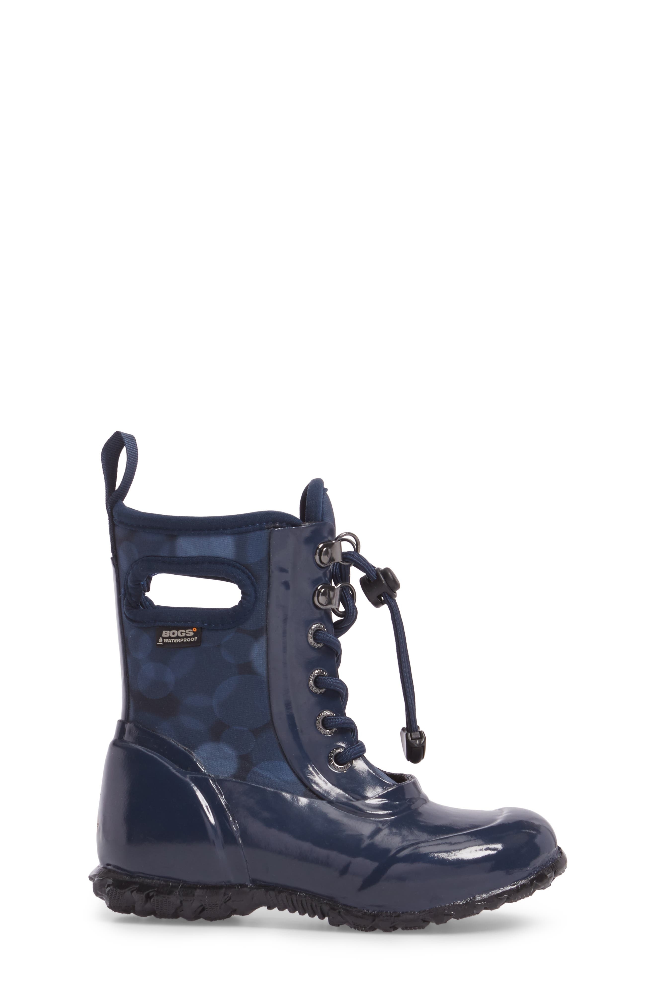Sidney Waterproof Lace-Up Boot,                             Alternate thumbnail 5, color,