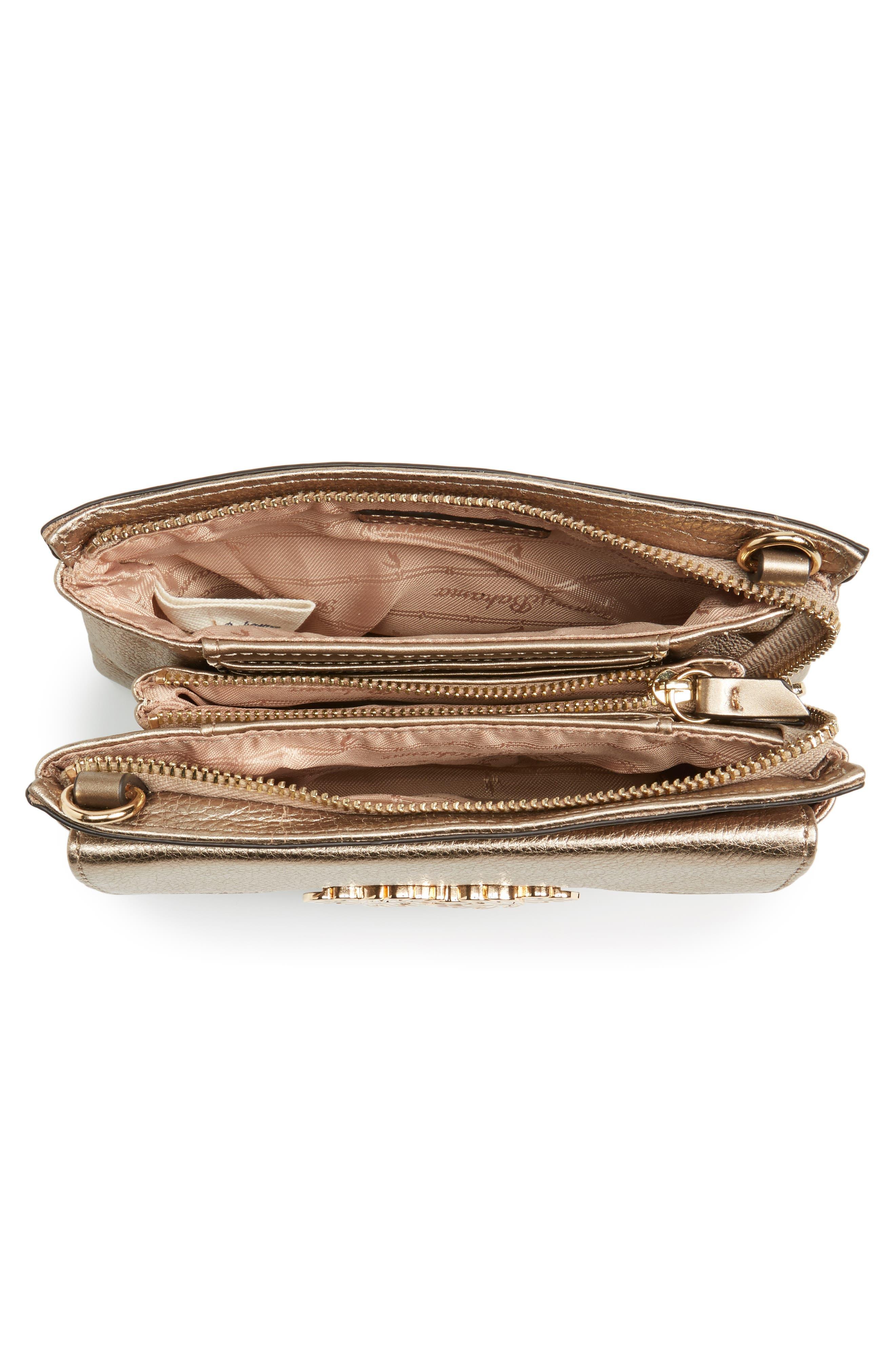 Katerini Leather Crossbody Wallet,                             Alternate thumbnail 20, color,