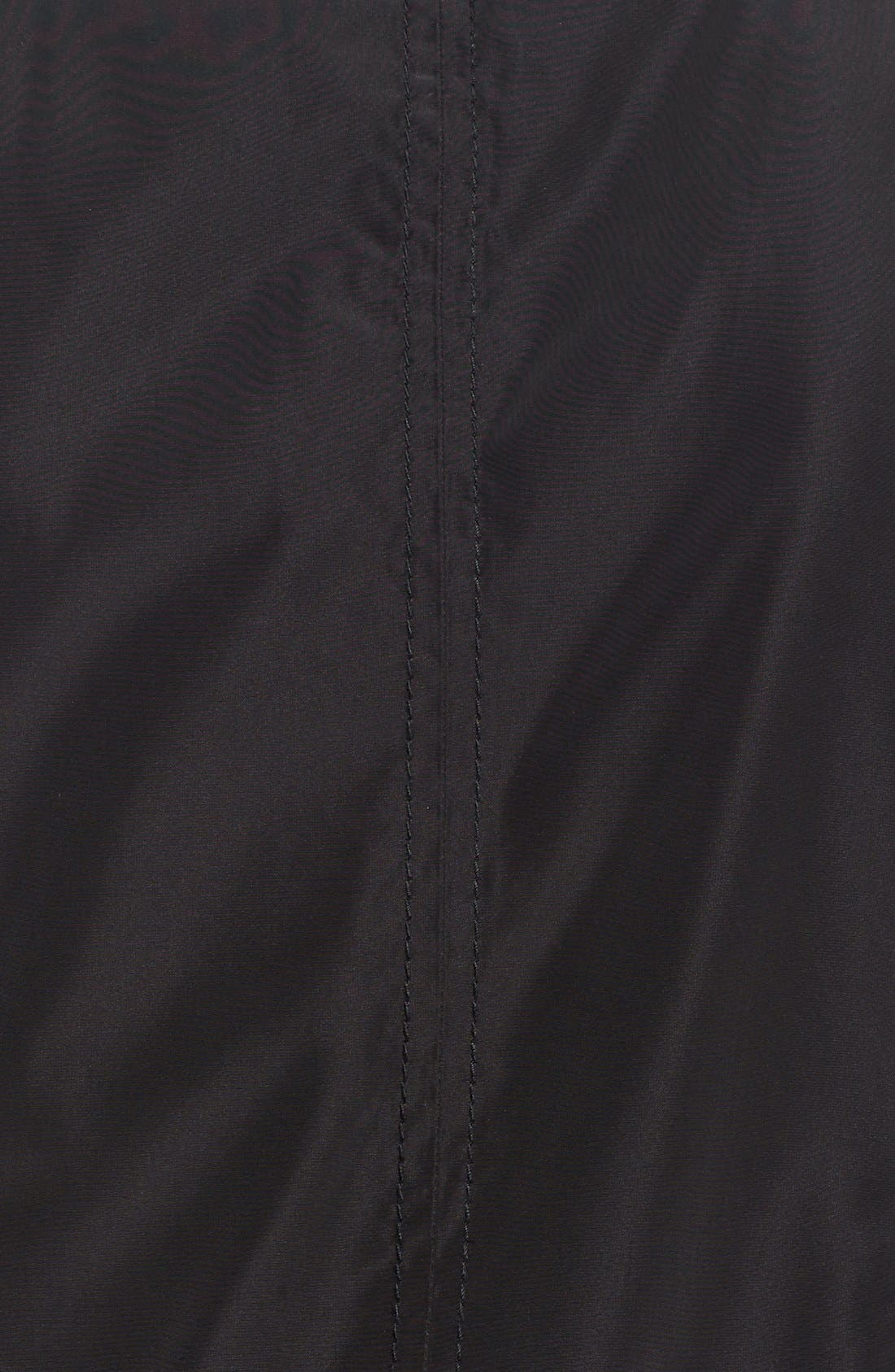 Windbreaker with Lace-Up Sides,                             Alternate thumbnail 3, color,                             001