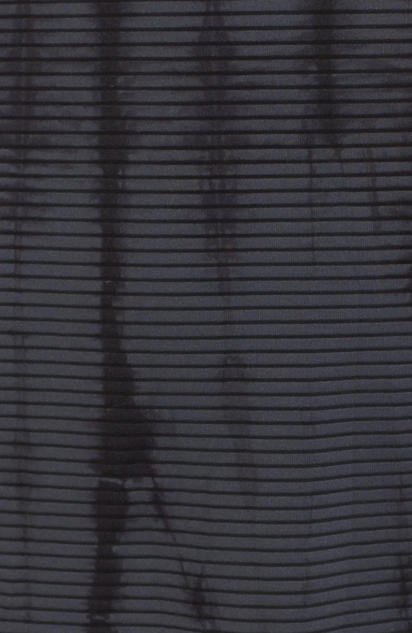 Waves Tie Dye Gray Hooded Pullover,                             Alternate thumbnail 6, color,                             DARK GREY