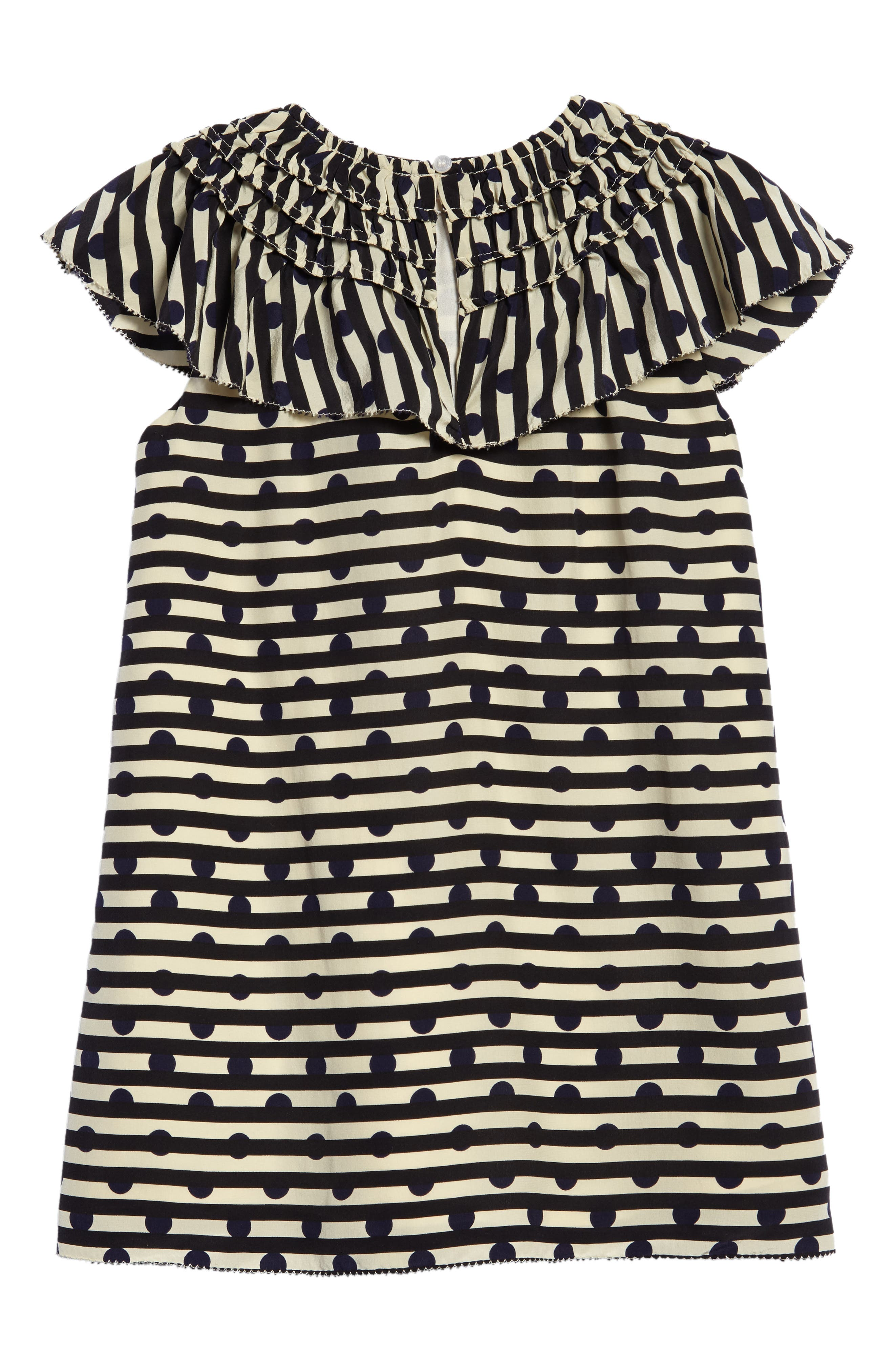 Lilla Silk Shift Dress,                             Alternate thumbnail 2, color,                             410