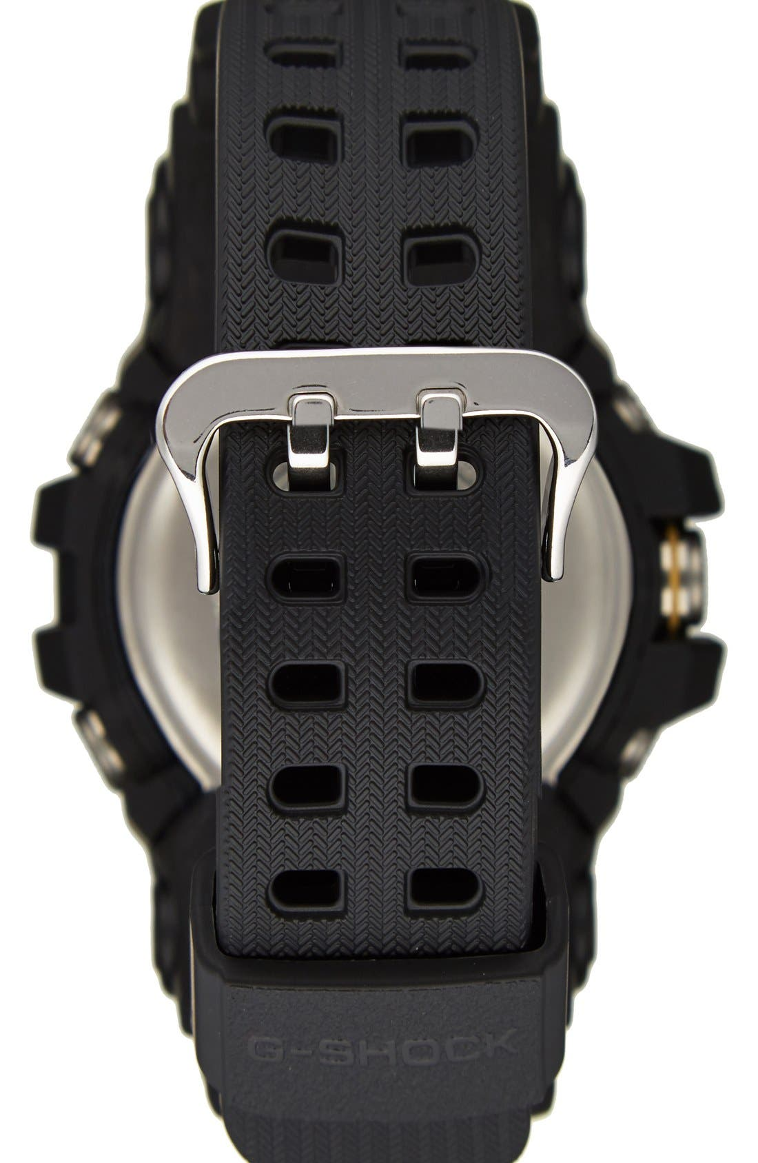 G-Shock AD Mudmaster Strap Watch, 56mm,                             Alternate thumbnail 3, color,                             001