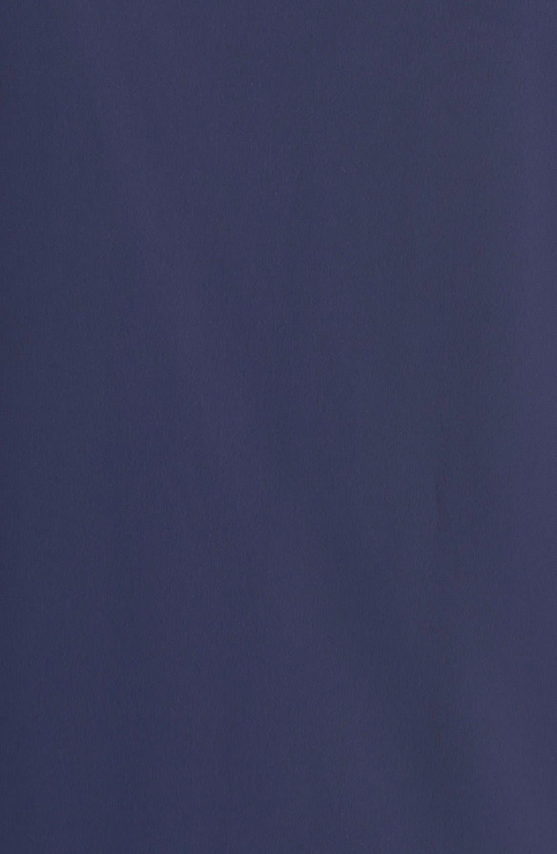 Embellished Split Sleeve Chiffon Shift Dress,                             Alternate thumbnail 9, color,