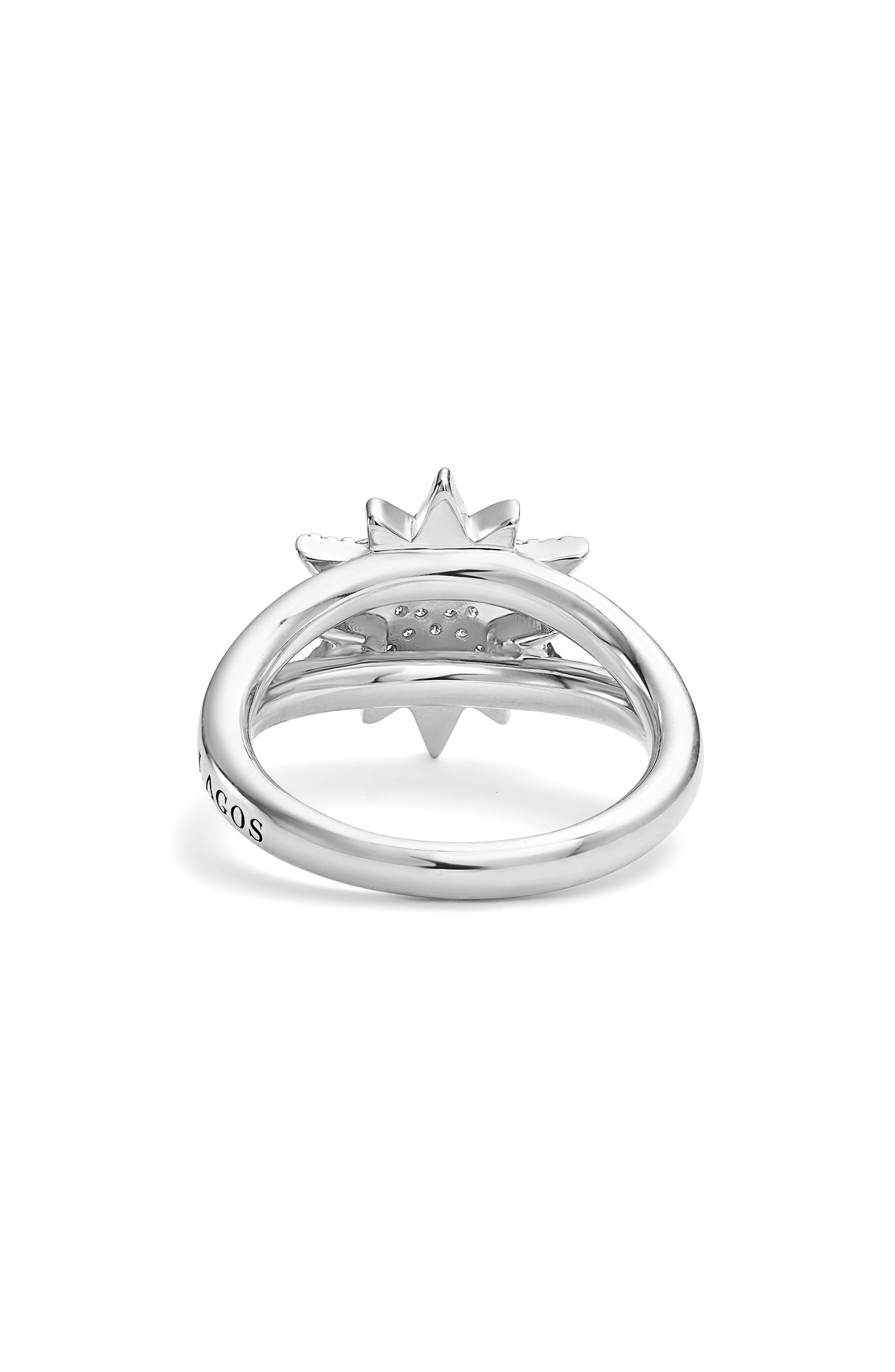 North Star Ring,                             Alternate thumbnail 3, color,                             DIAMOND