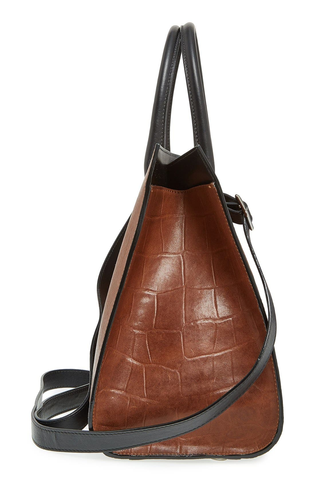 'Riley' Leather Tote,                             Alternate thumbnail 11, color,