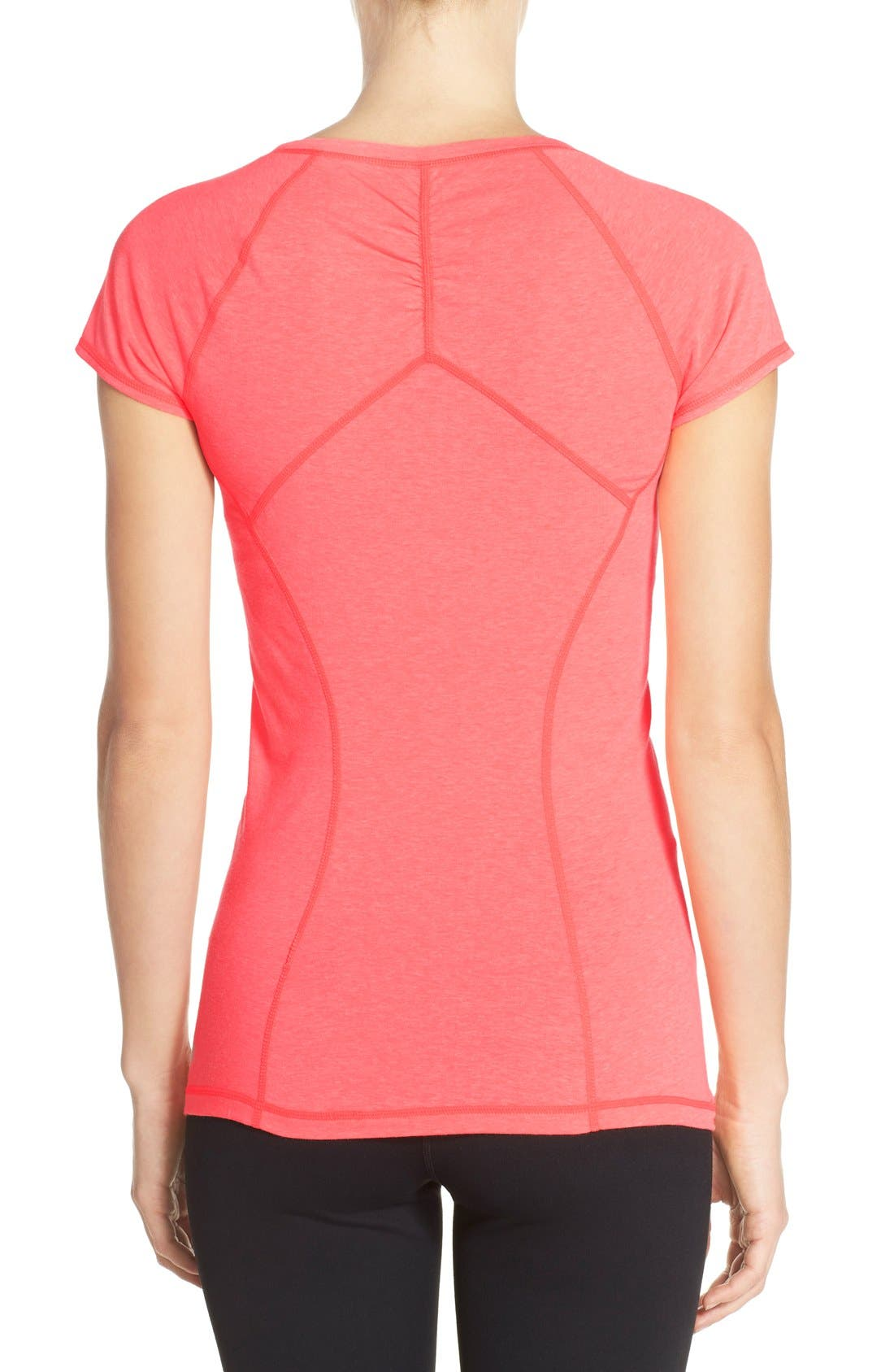'Z 6' Ruched Tee,                             Alternate thumbnail 36, color,