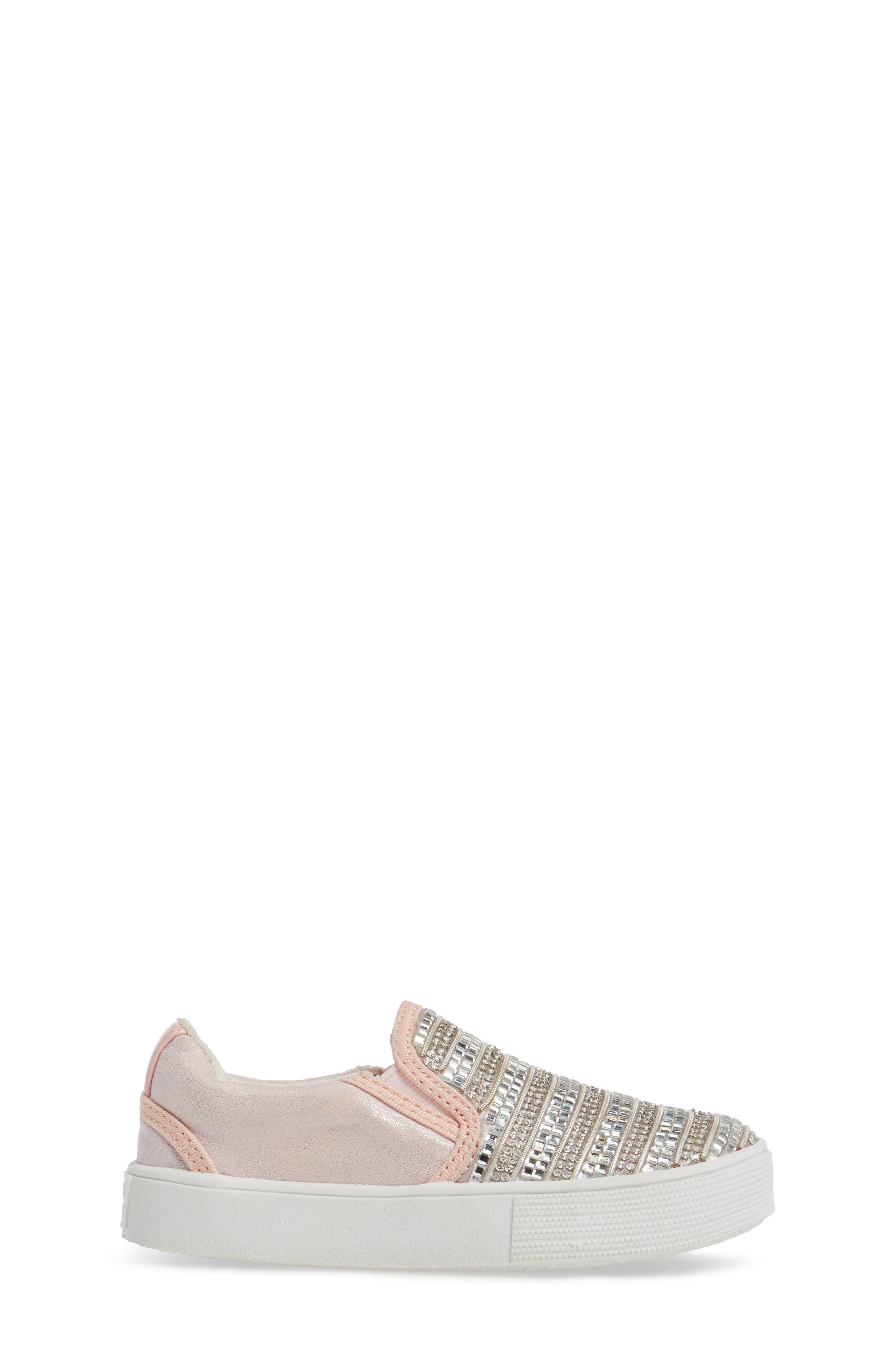 Vance Glitz Slip-On Sneaker,                             Alternate thumbnail 9, color,