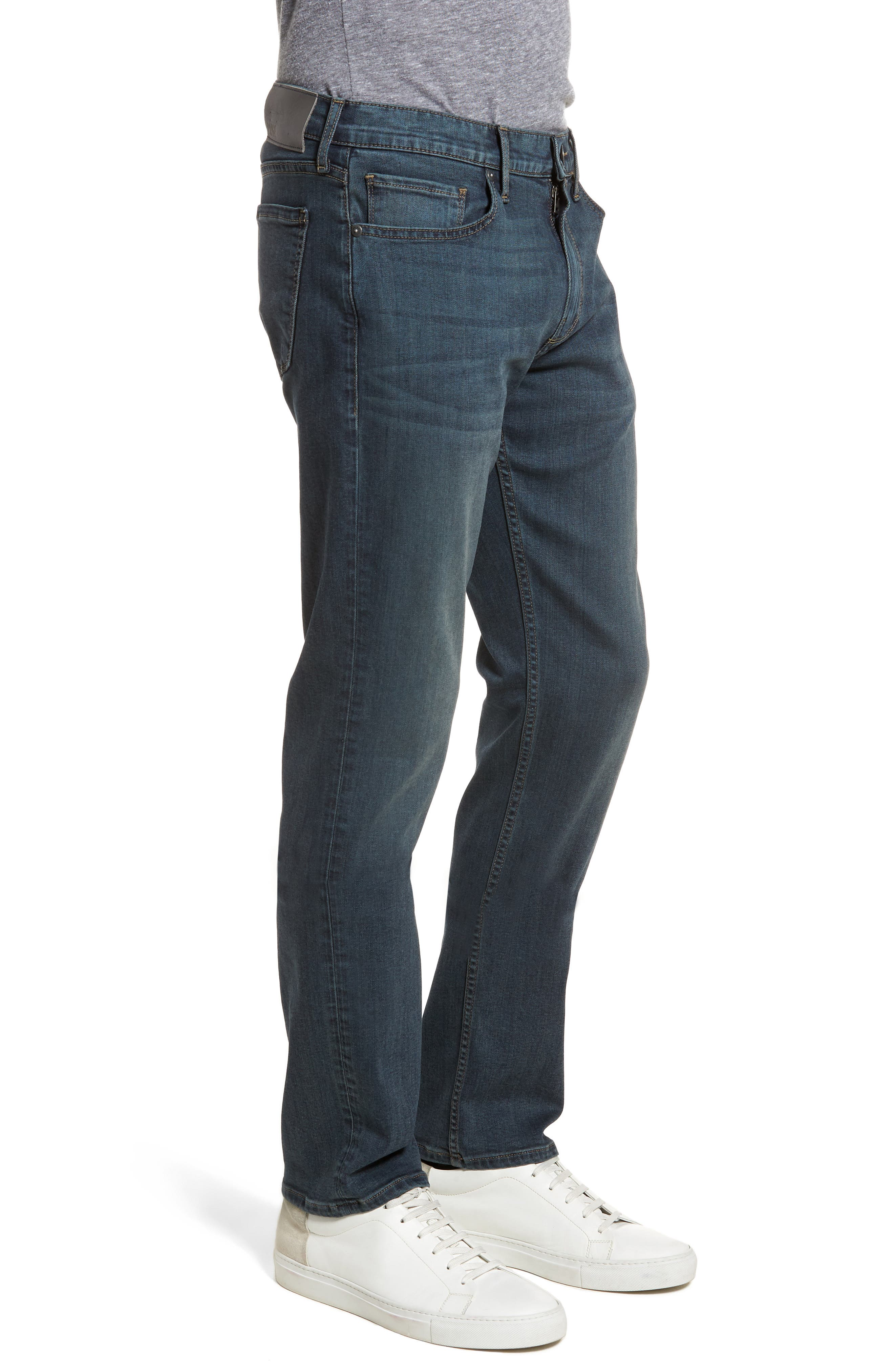 Byron Slim Straight Fit Jeans,                             Alternate thumbnail 3, color,                             424