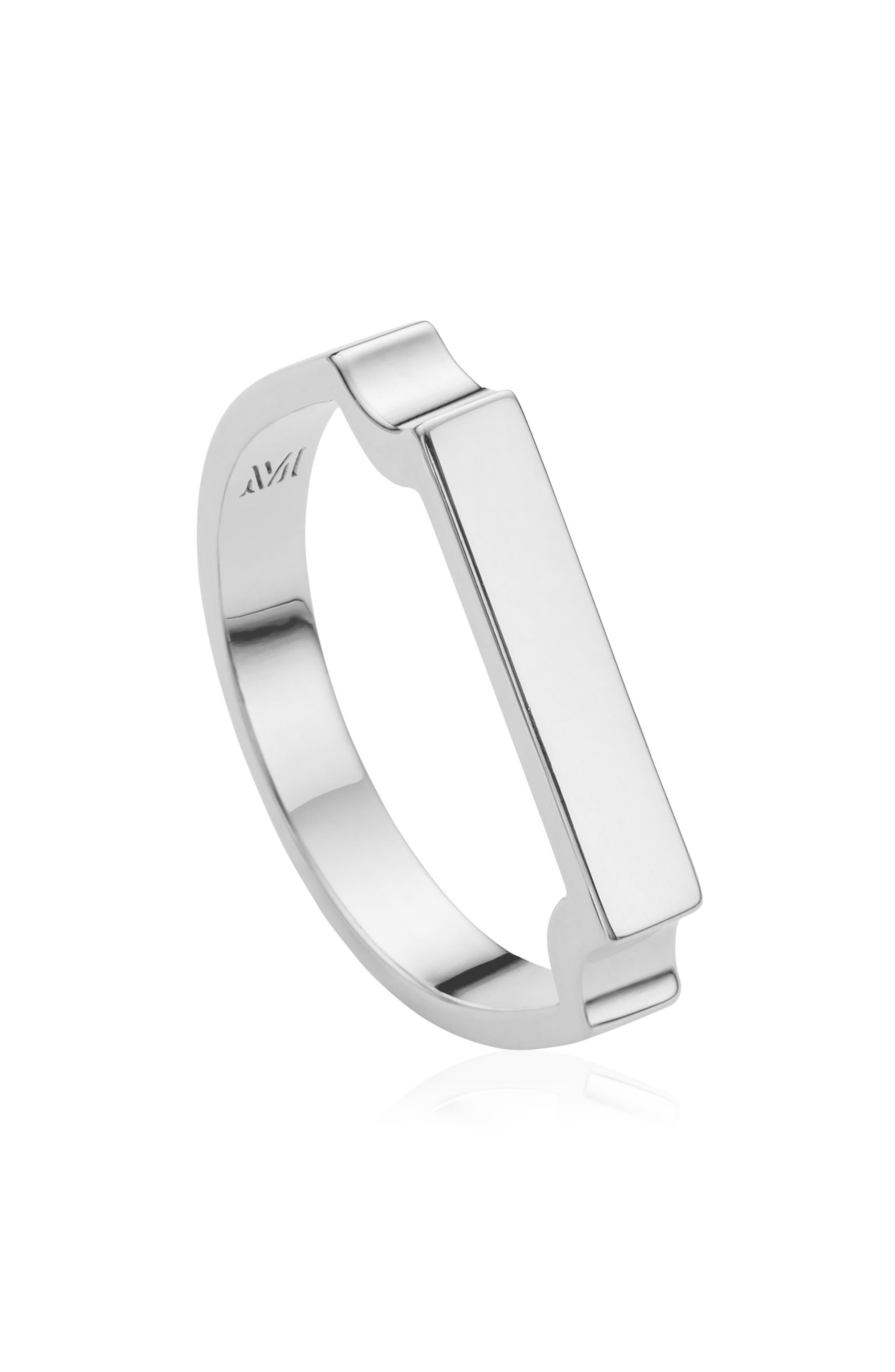 Signature Ring,                             Alternate thumbnail 3, color,                             SILVER