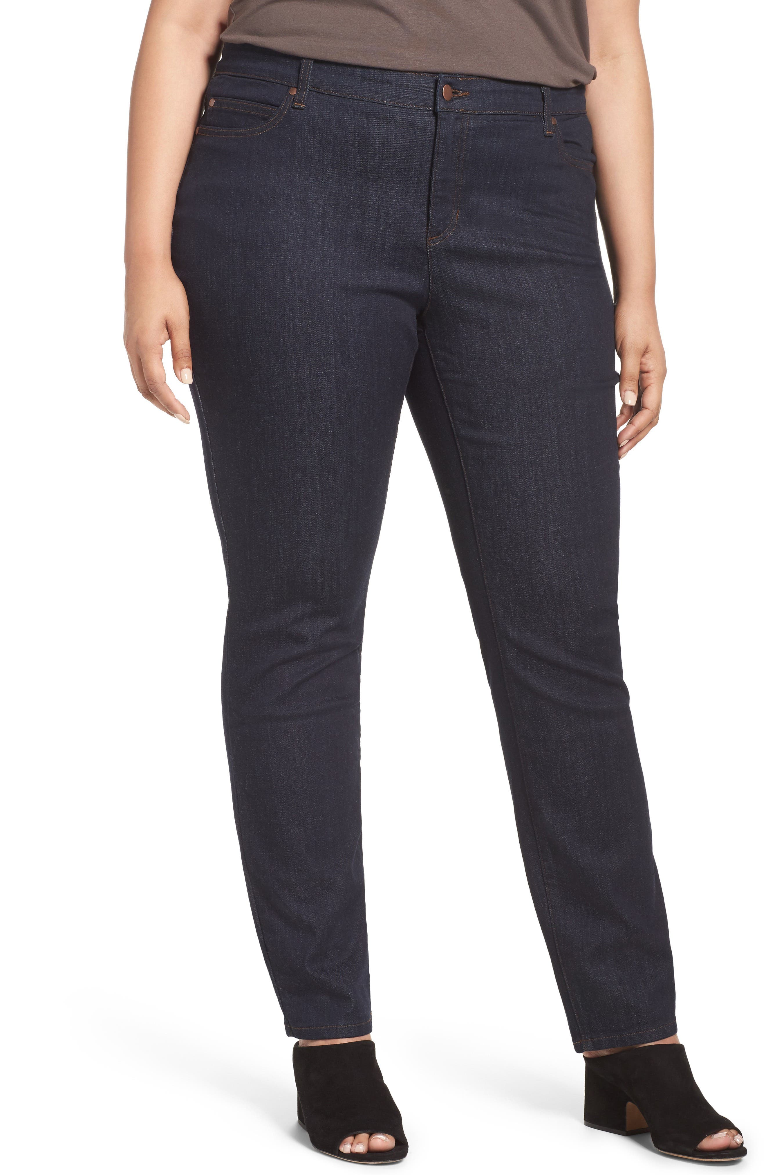 Organic Cotton Stretch Skinny Jeans,                             Main thumbnail 1, color,                             402