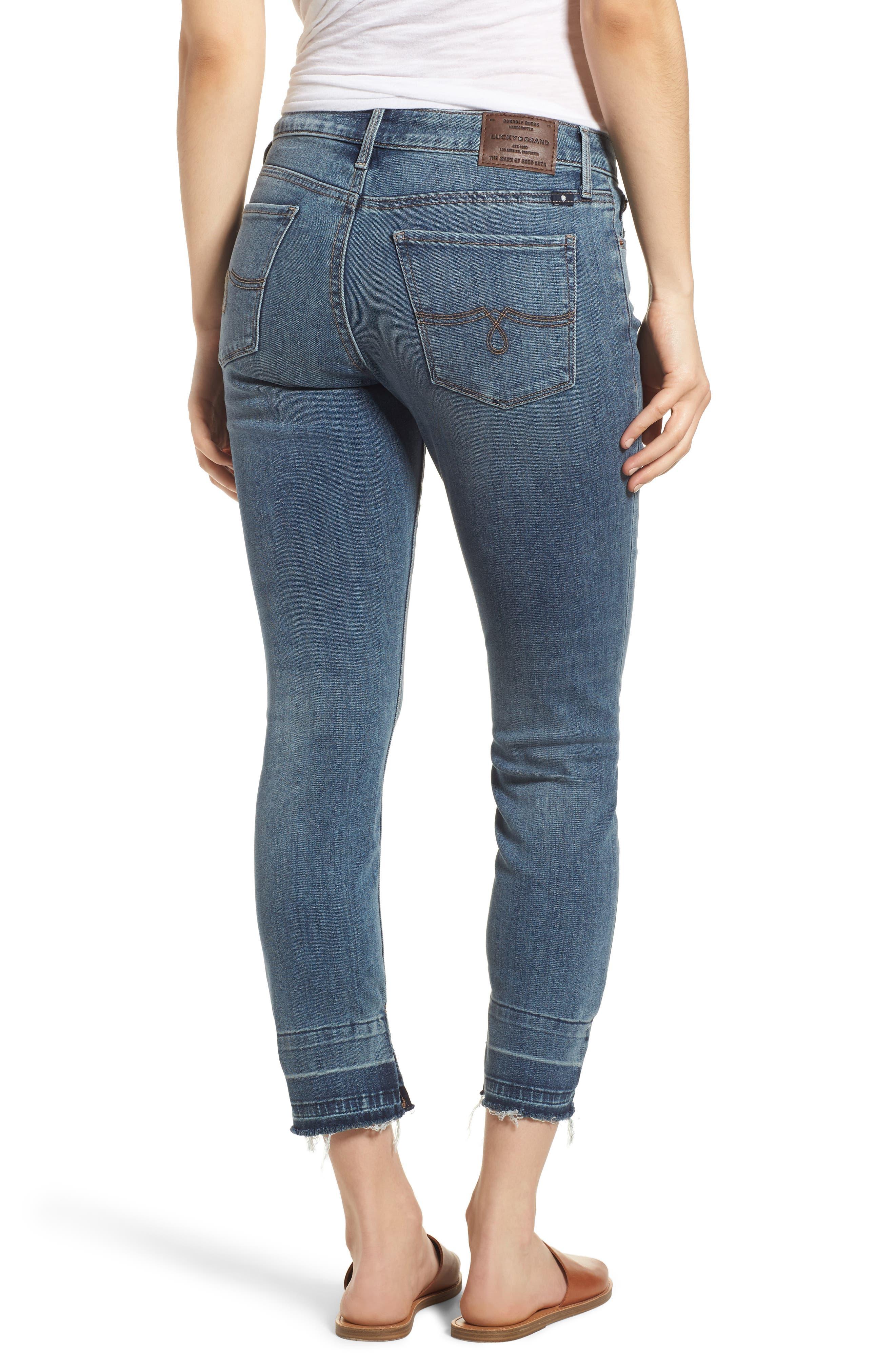 Lolita Skinny Cropped Denim Jeans,                             Alternate thumbnail 2, color,                             420