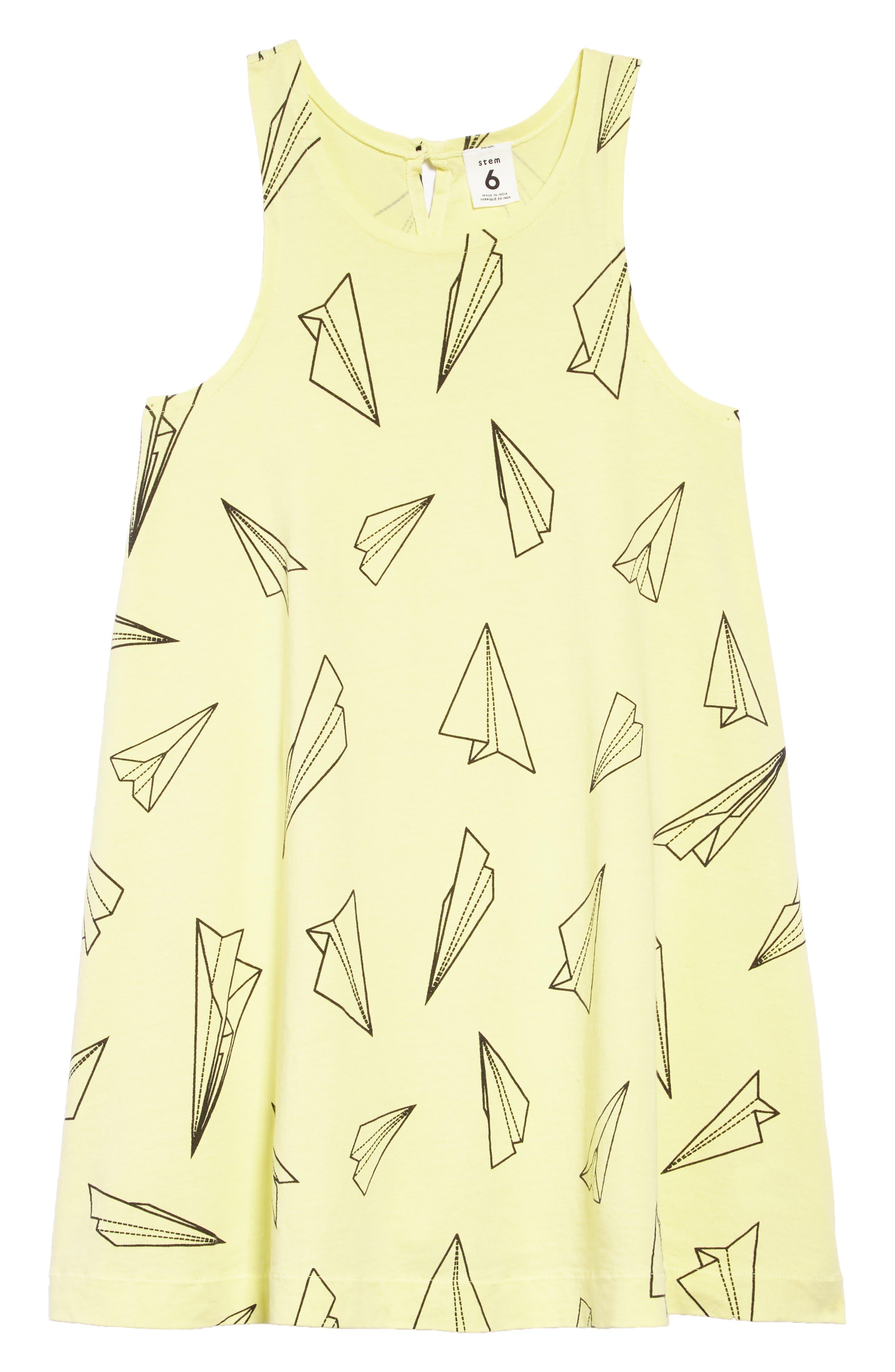 Print Swoop Dress,                             Main thumbnail 1, color,                             330