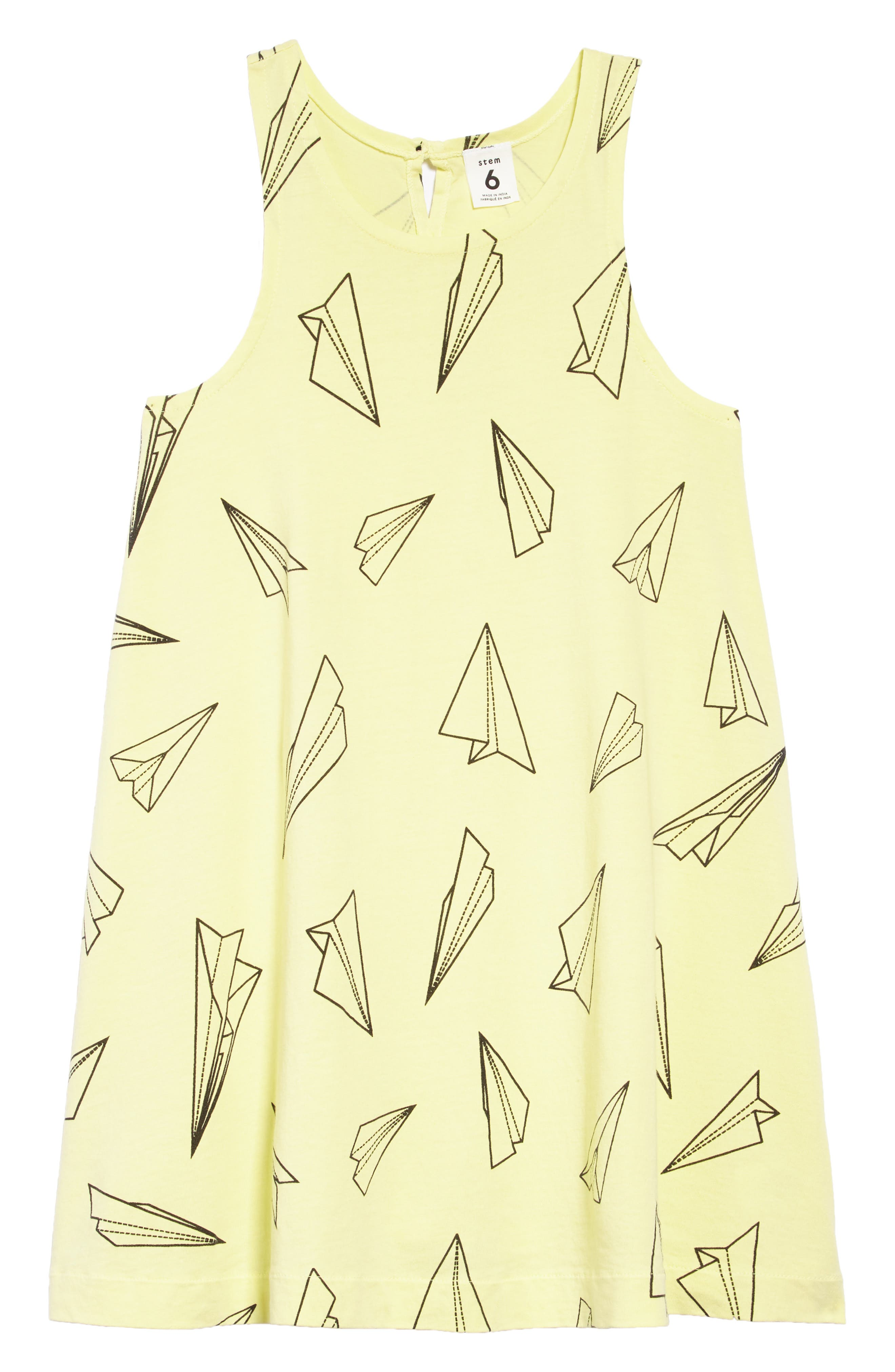Print Swoop Dress,                         Main,                         color, 330