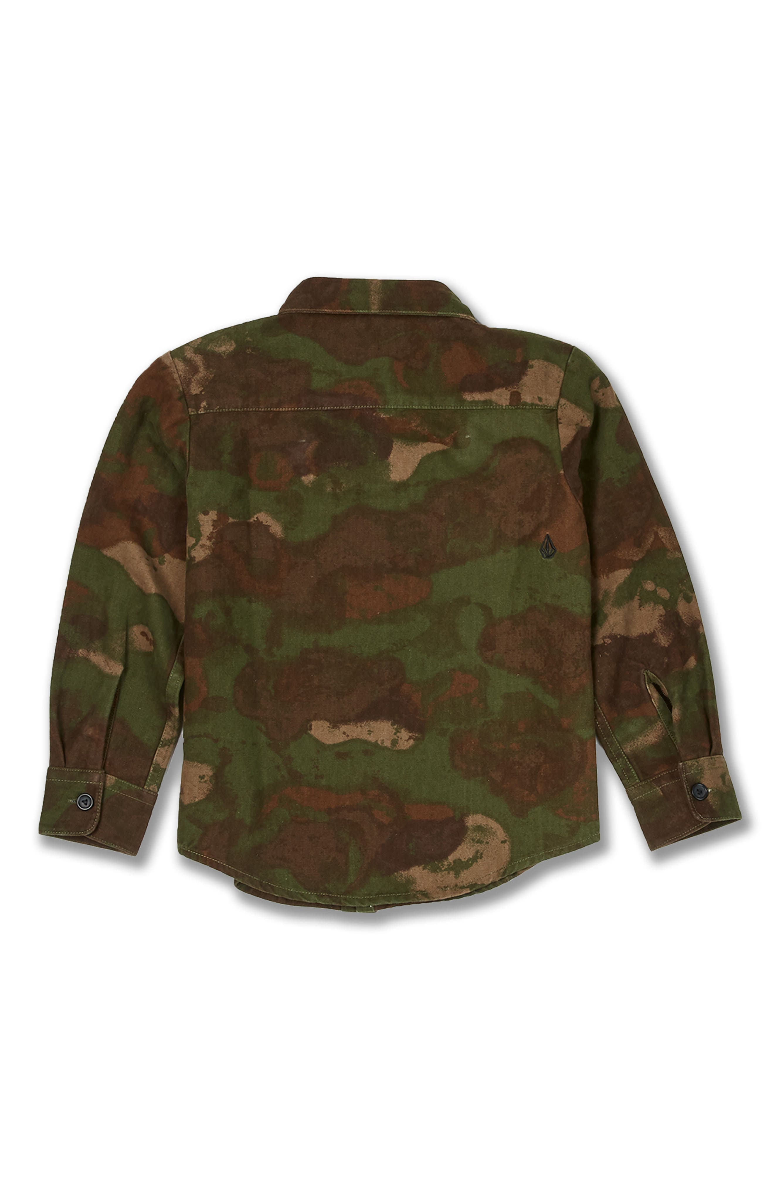 Camo Jacket,                             Alternate thumbnail 2, color,                             ARMY