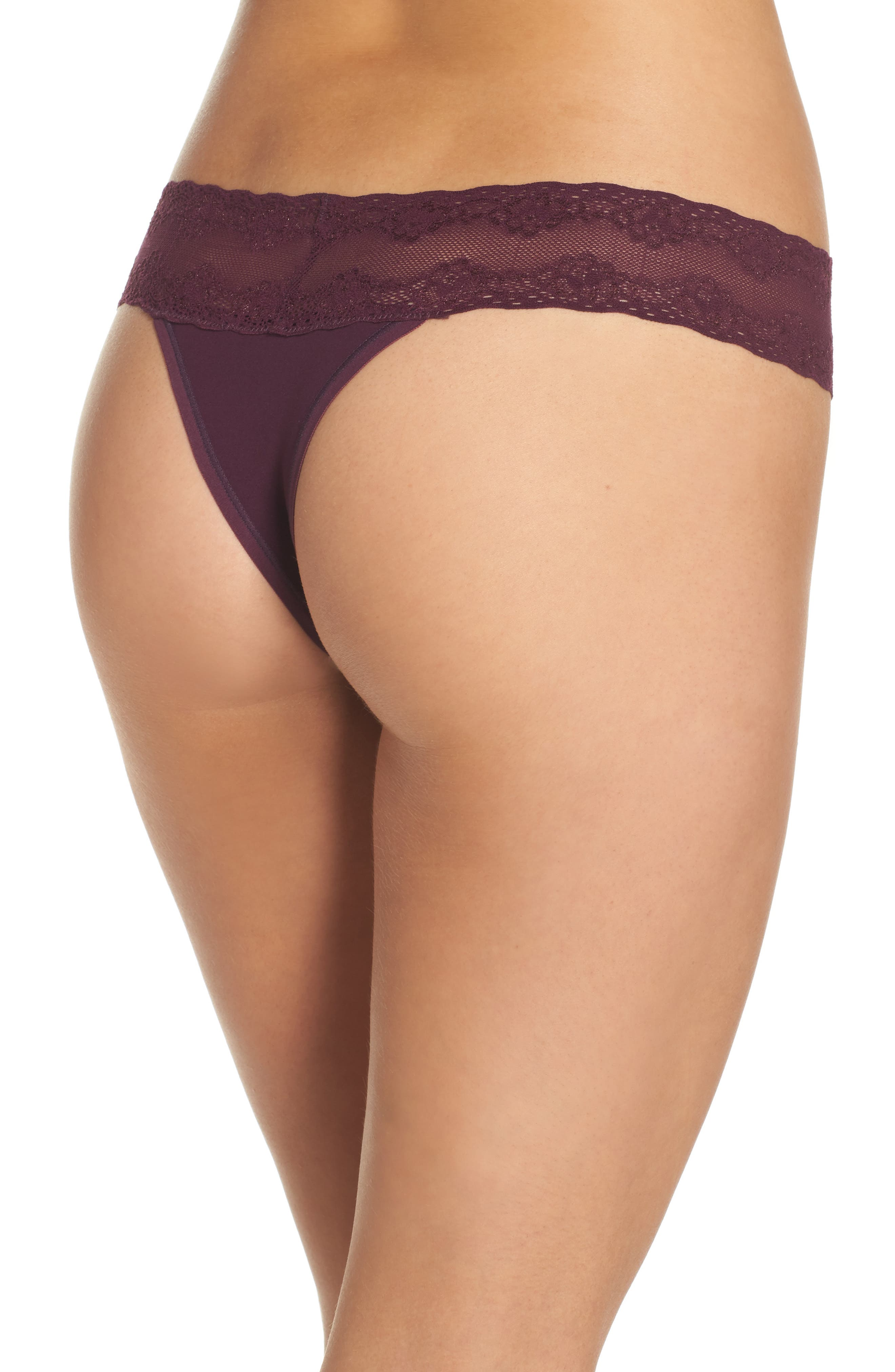 Bliss Perfection Thong,                             Alternate thumbnail 125, color,
