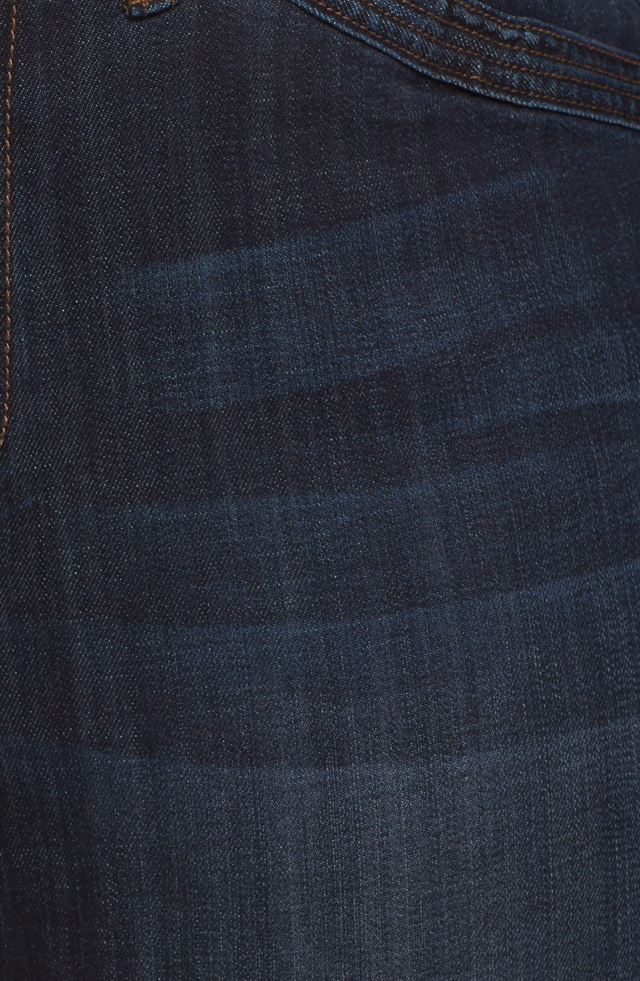 Wide Leg Crop Jeans,                             Alternate thumbnail 9, color,