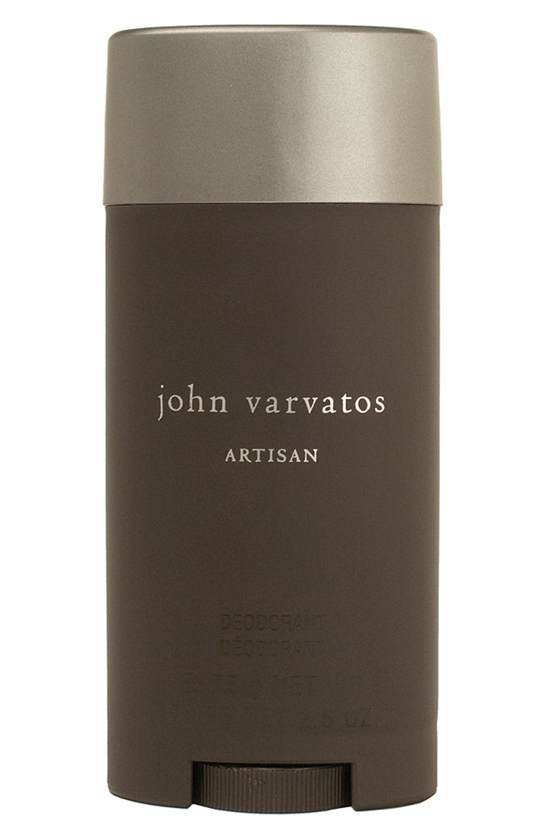 John Varvatos 'Artisan' Deodorant Stick,                         Main,                         color, NO COLOR