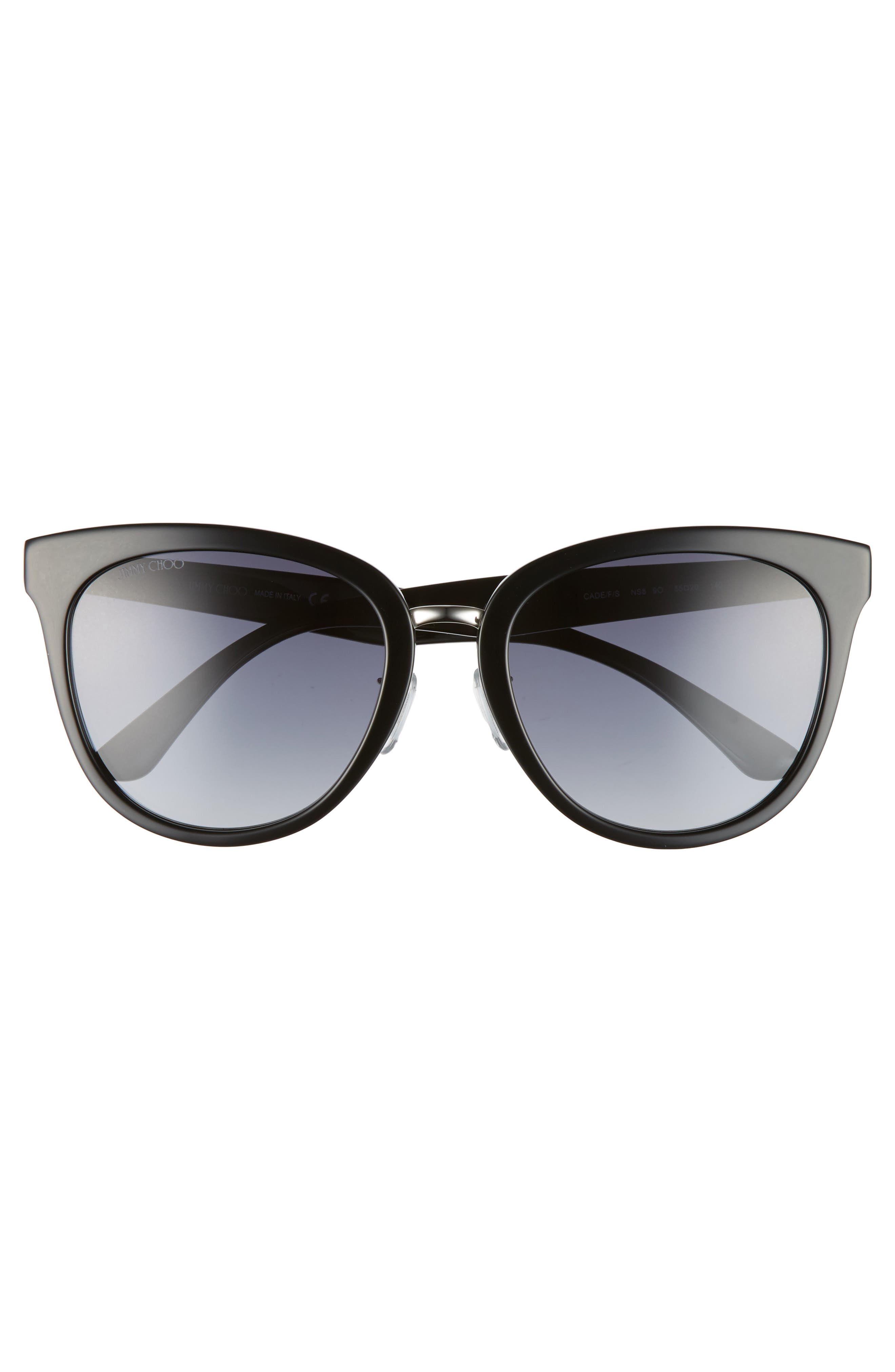 Cadefs 55mm Sunglasses,                             Alternate thumbnail 3, color,                             001