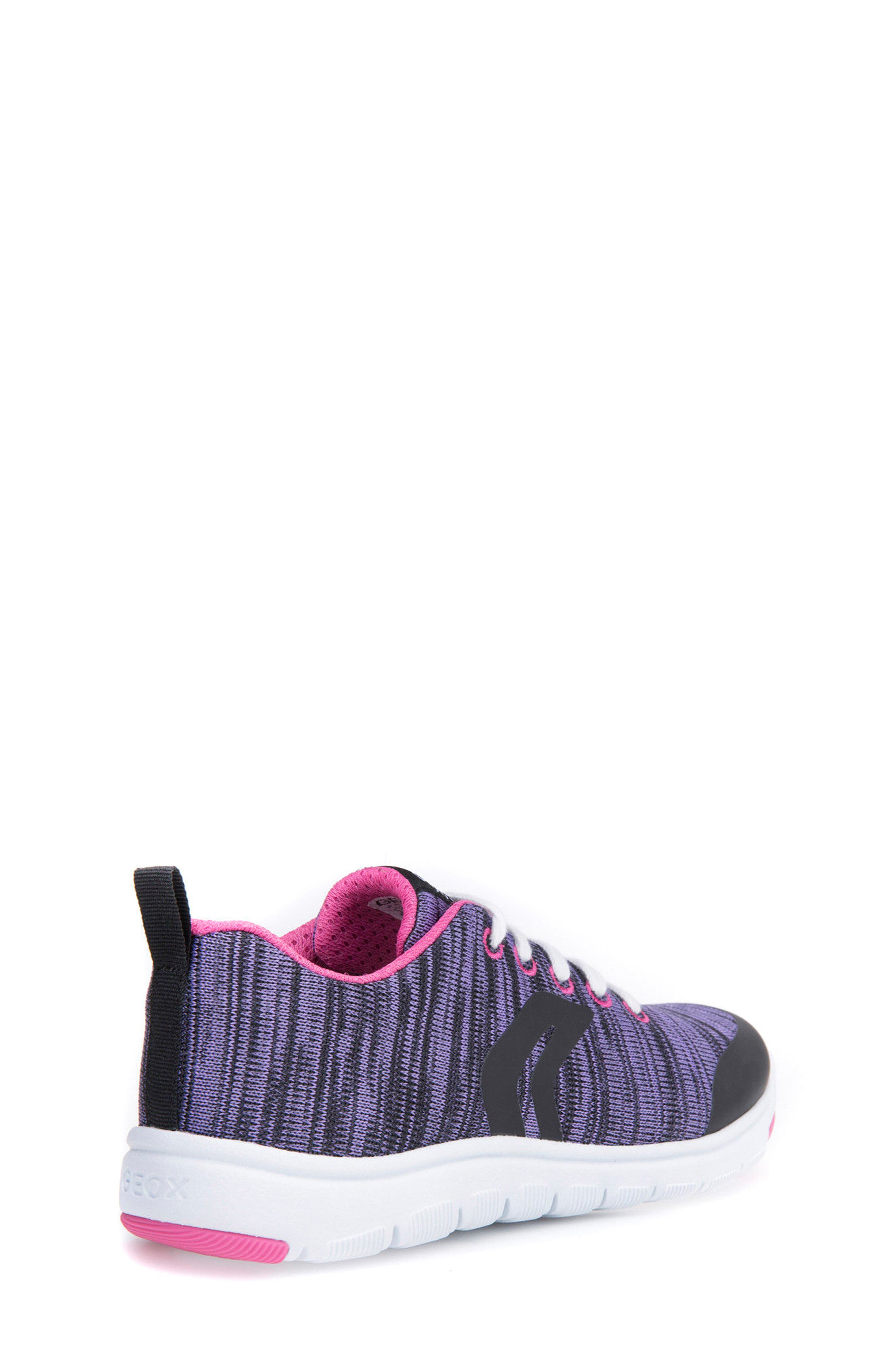 GEOX,                             Xunday Performance Knit Low Top Sneaker,                             Alternate thumbnail 2, color,                             574