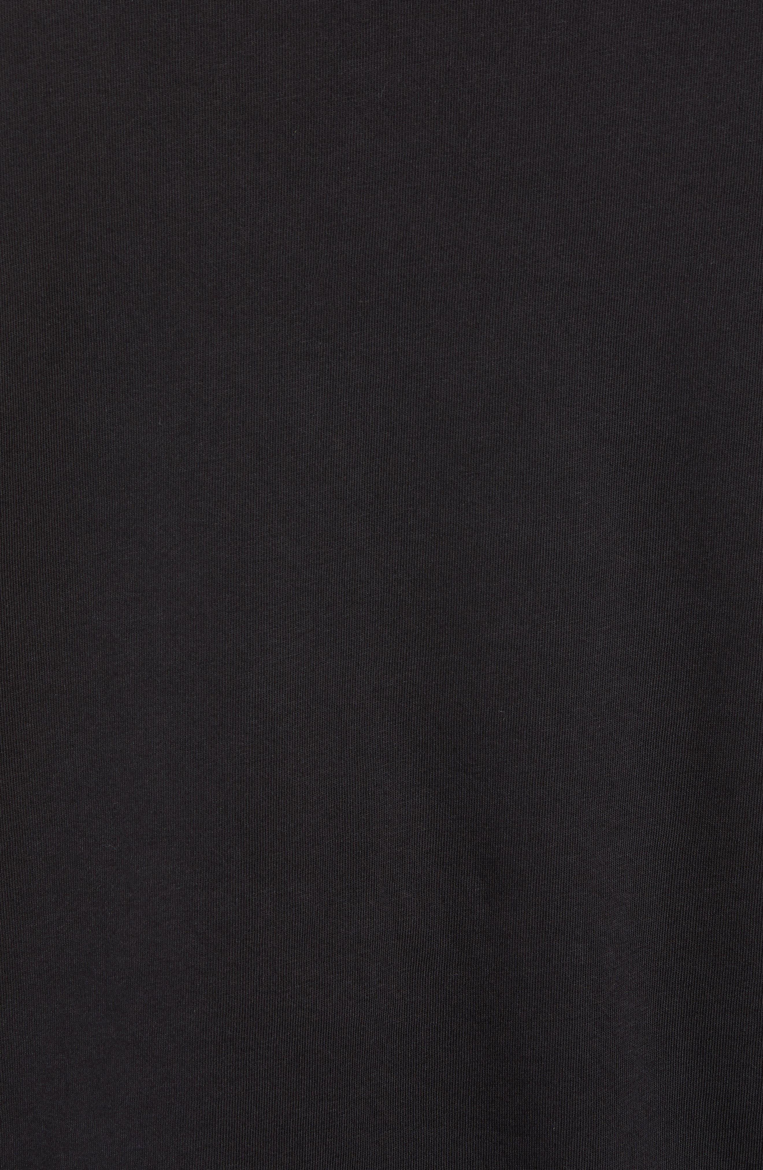 Core Logo T-Shirt,                             Alternate thumbnail 5, color,                             BLACK